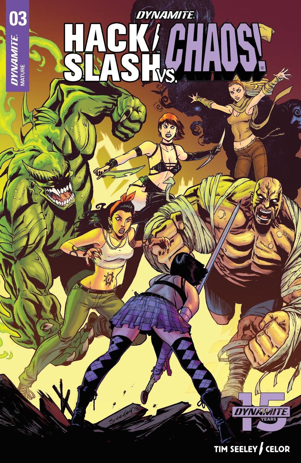 Read online Hack/Slash vs. Chaos comic -  Issue #3 - 1