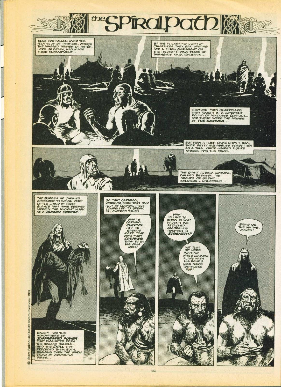 Warrior Issue #6 #7 - English 12