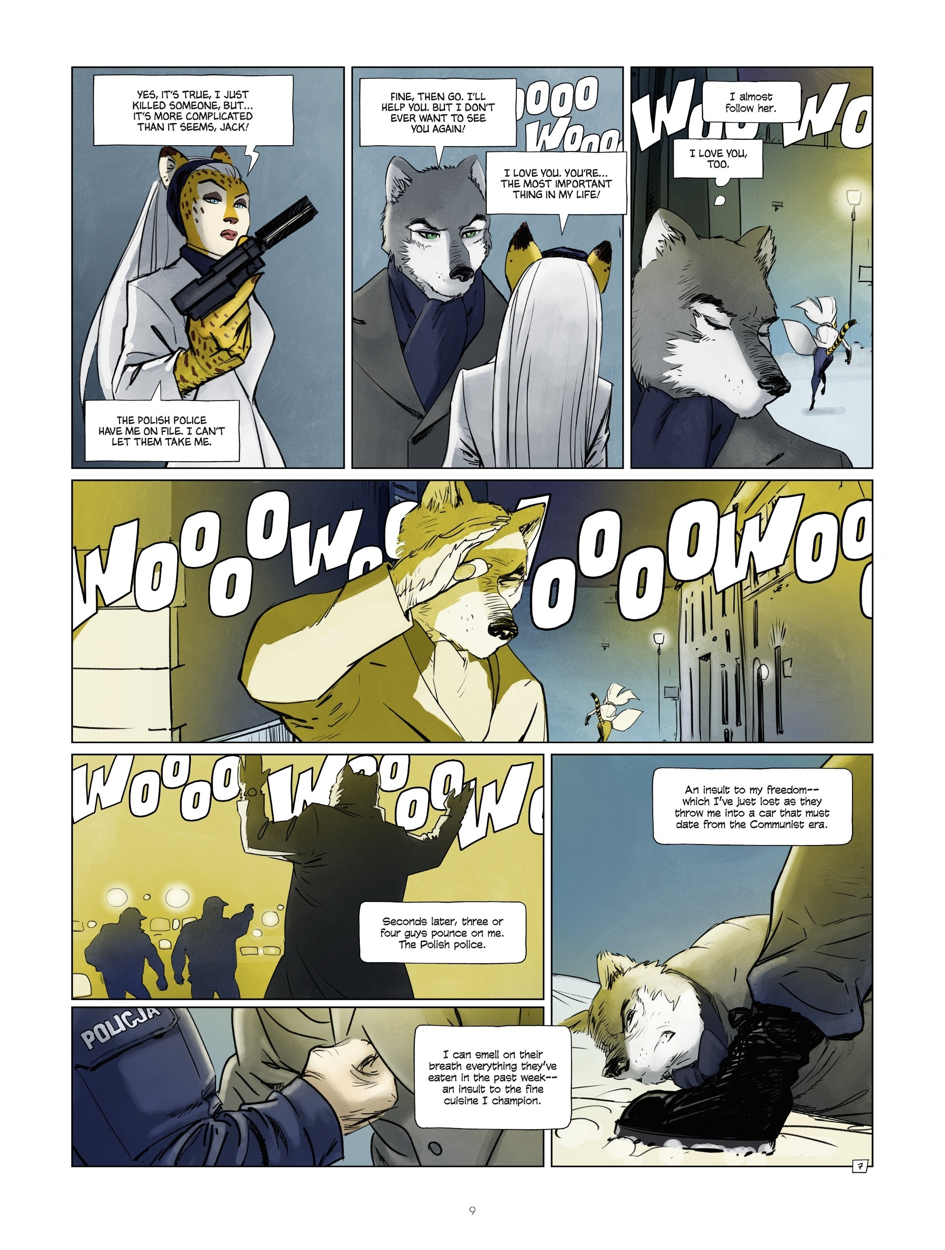 Read online Jack Wolfgang comic -  Issue #3 - 11