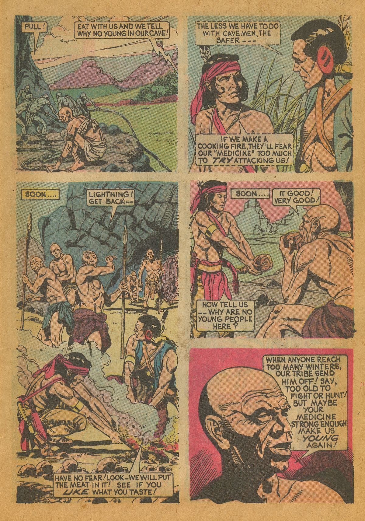 Read online Turok, Son of Stone comic -  Issue #112 - 5