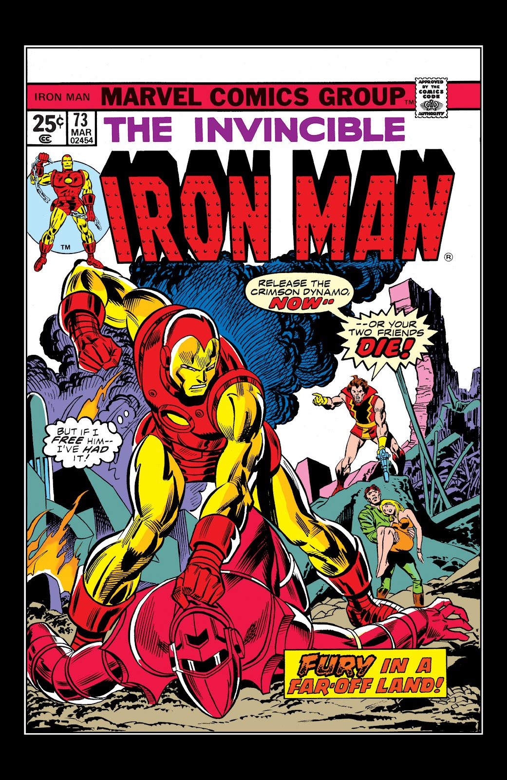 Read online Marvel Masterworks: The Invincible Iron Man comic -  Issue # TPB 10 (Part 1) - 98