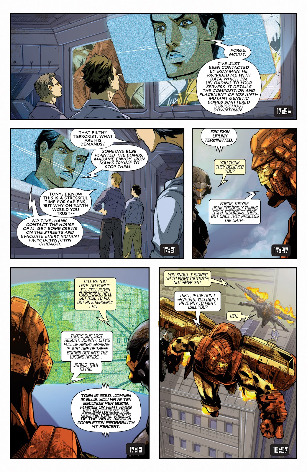 Iron Man: House of M Issue #3 #3 - English 6