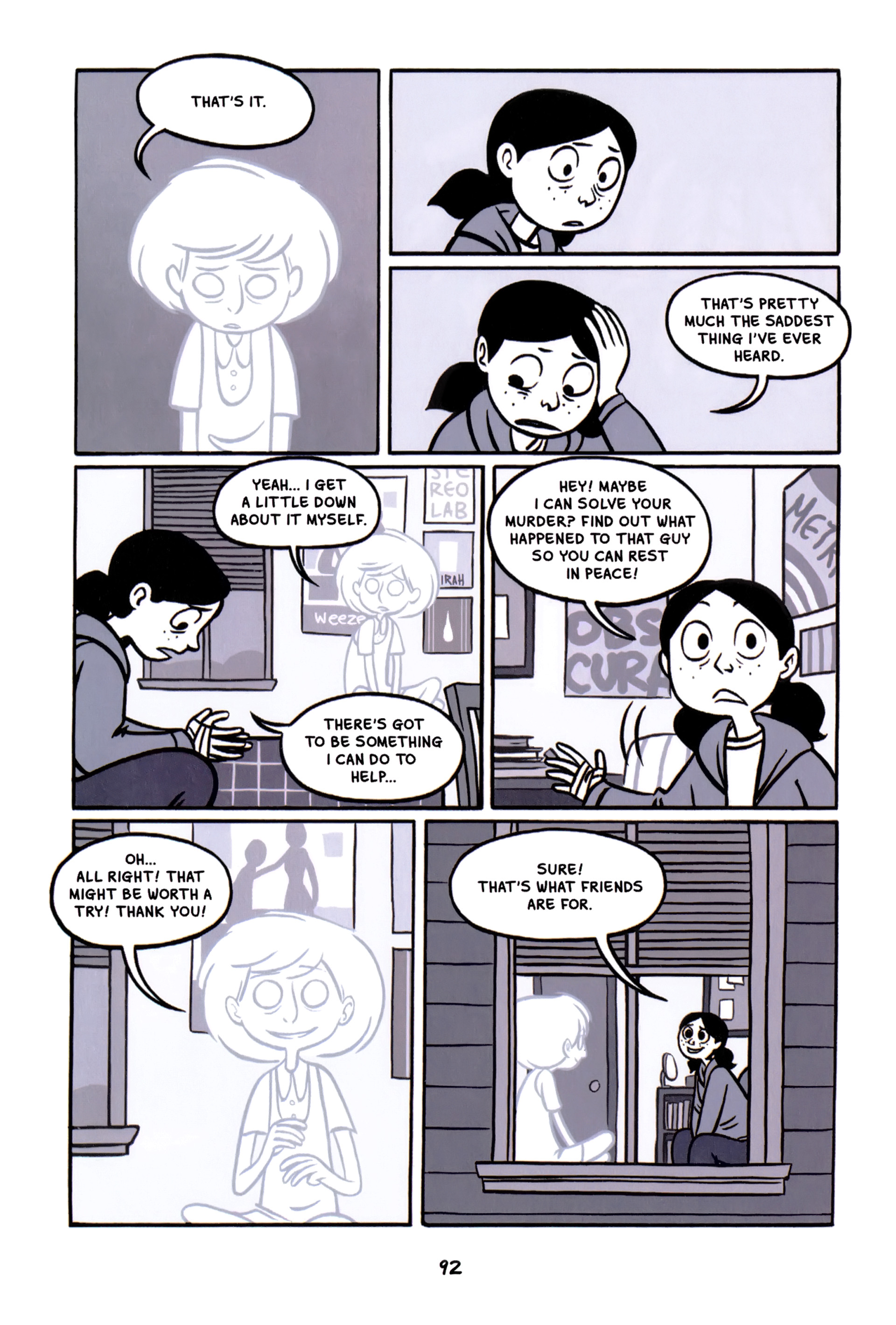 Read online Anya's Ghost comic -  Issue #1 - 93