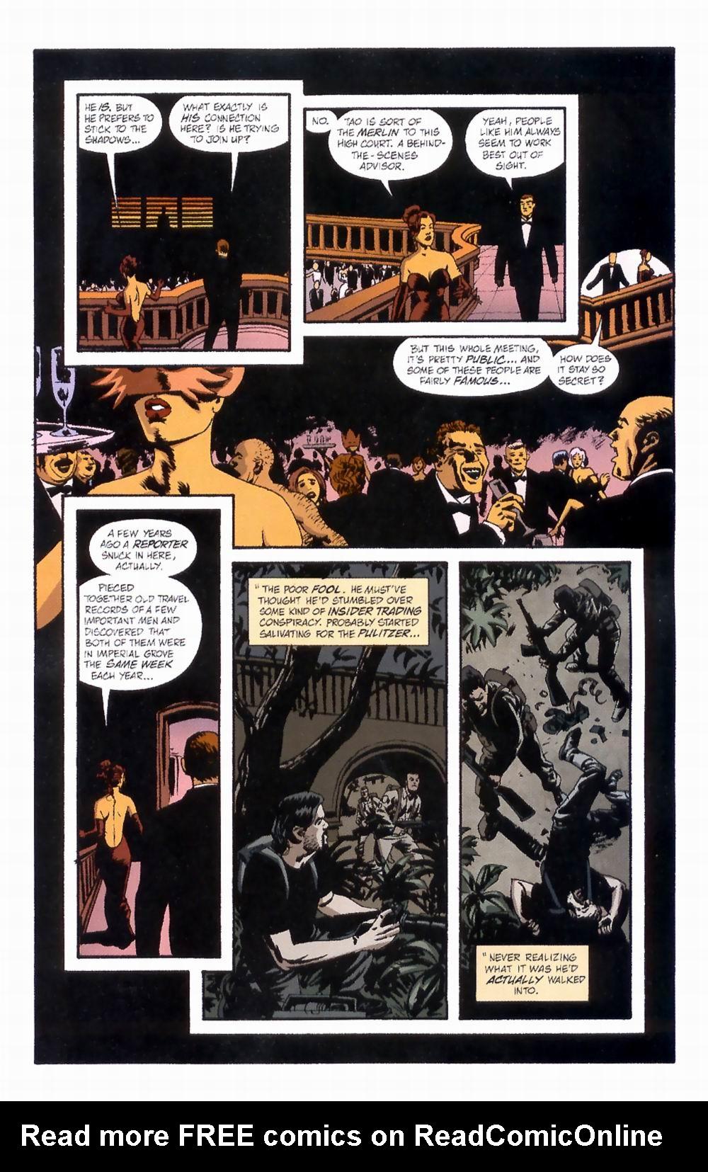 Read online Sleeper comic -  Issue #4 - 10