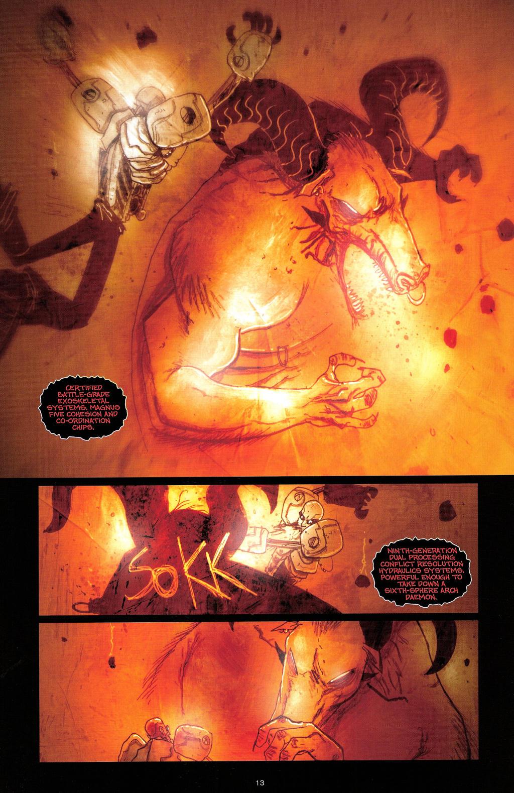 Read online Wormwood: Gentleman Corpse comic -  Issue #4 - 16