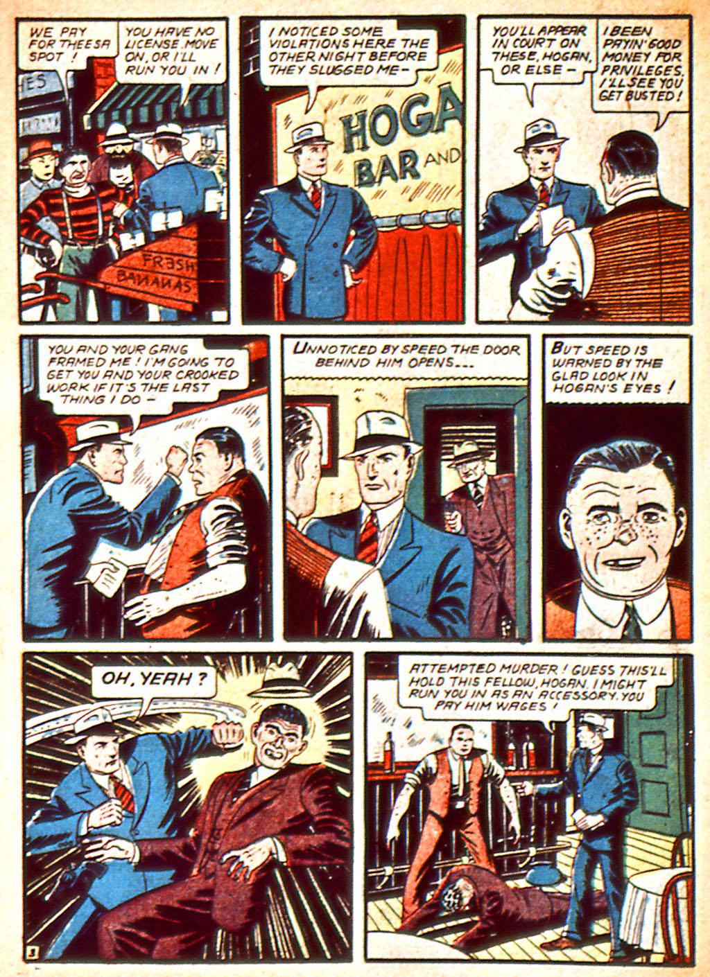Read online Detective Comics (1937) comic -  Issue #37 - 39