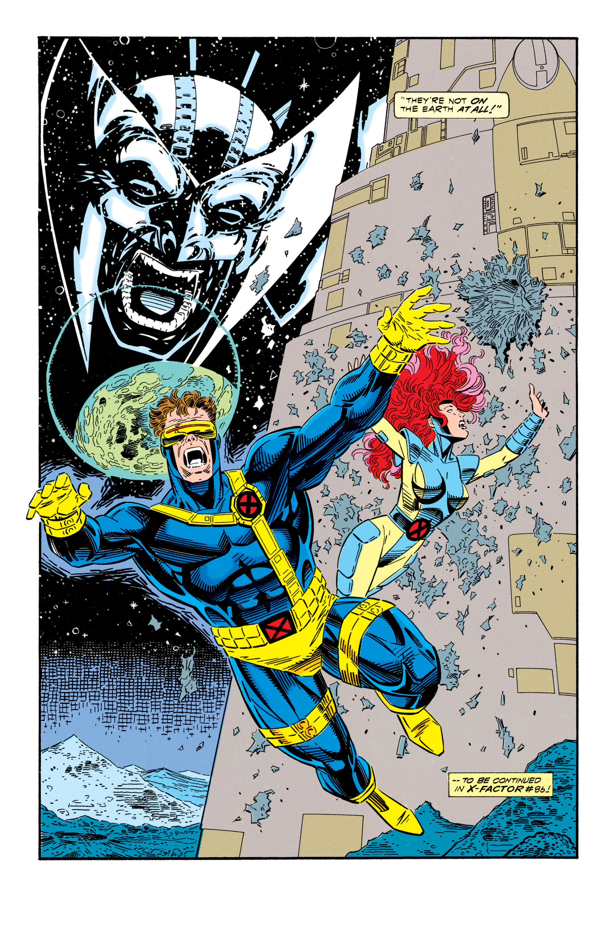 Read online Uncanny X-Men (1963) comic -  Issue #296 - 24