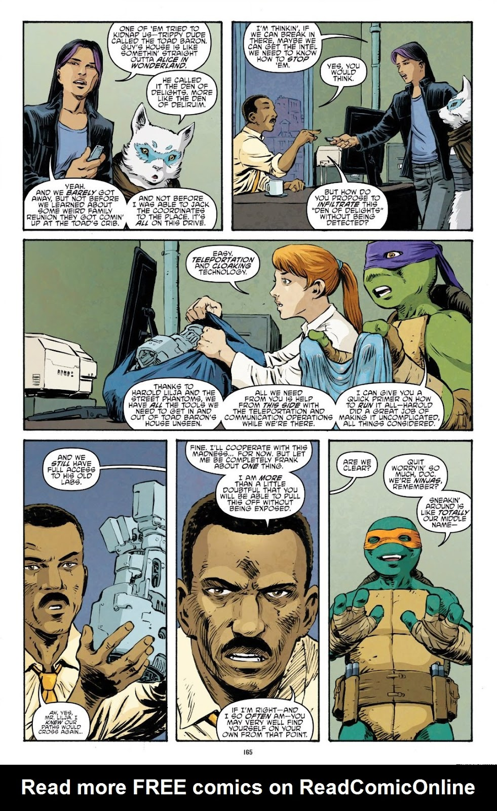 Read online Teenage Mutant Ninja Turtles: The IDW Collection comic -  Issue # TPB 9 (Part 2) - 64