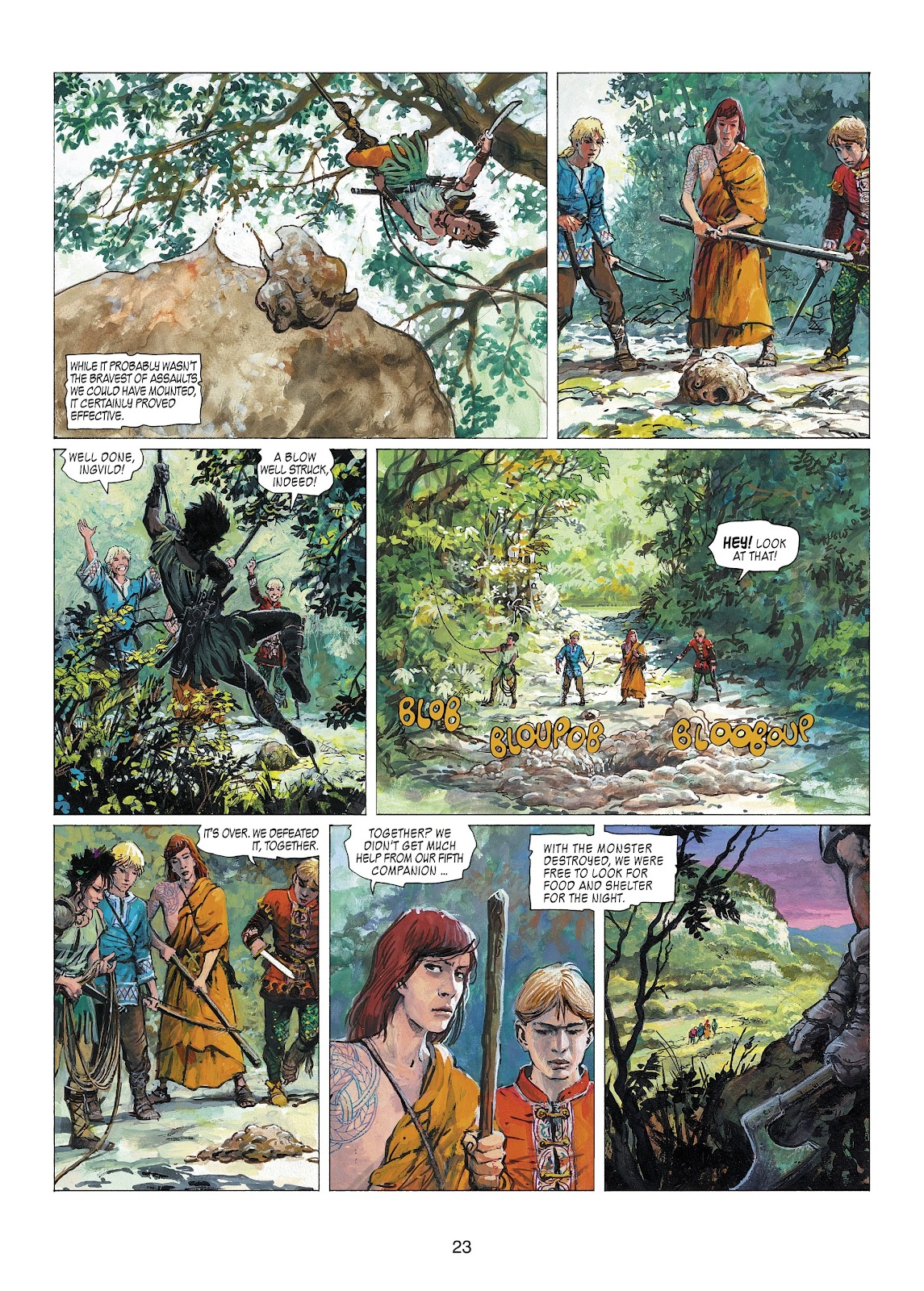 Read online Thorgal comic -  Issue #22 - 25