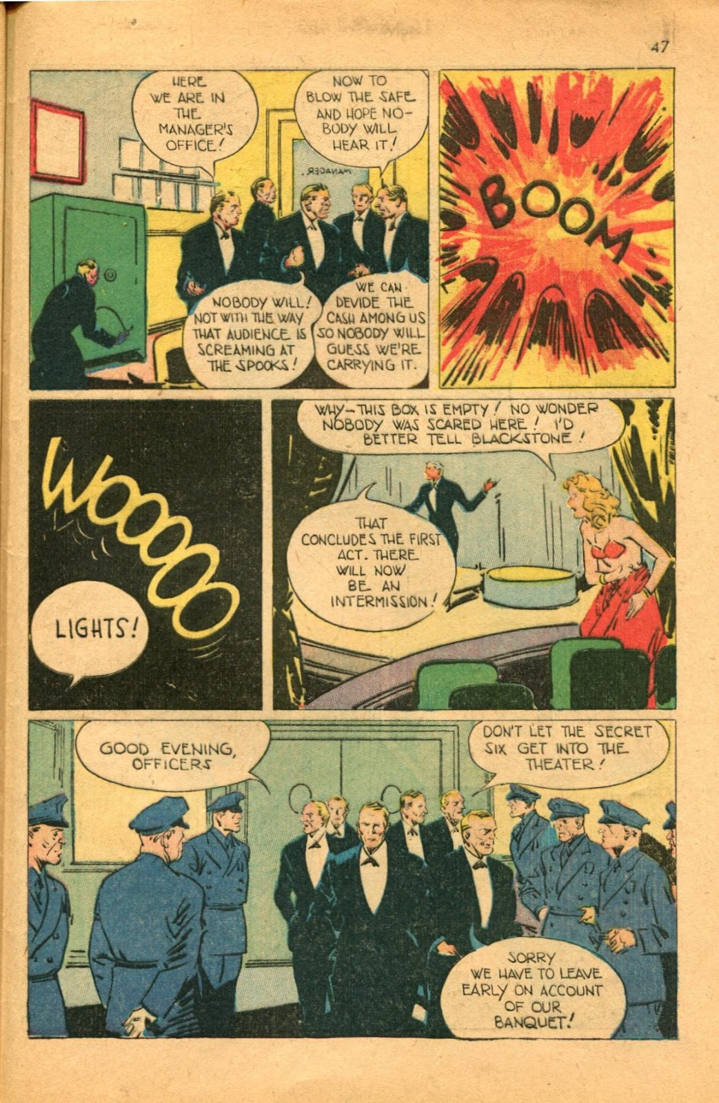 Read online Super-Magician Comics comic -  Issue #46 - 47