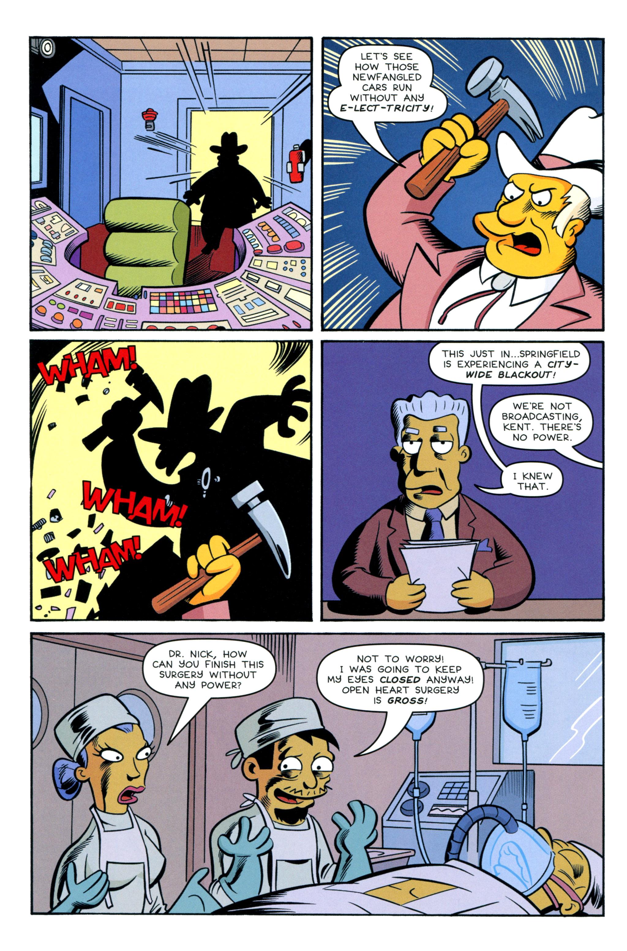 Read online Simpsons Comics comic -  Issue #212 - 12