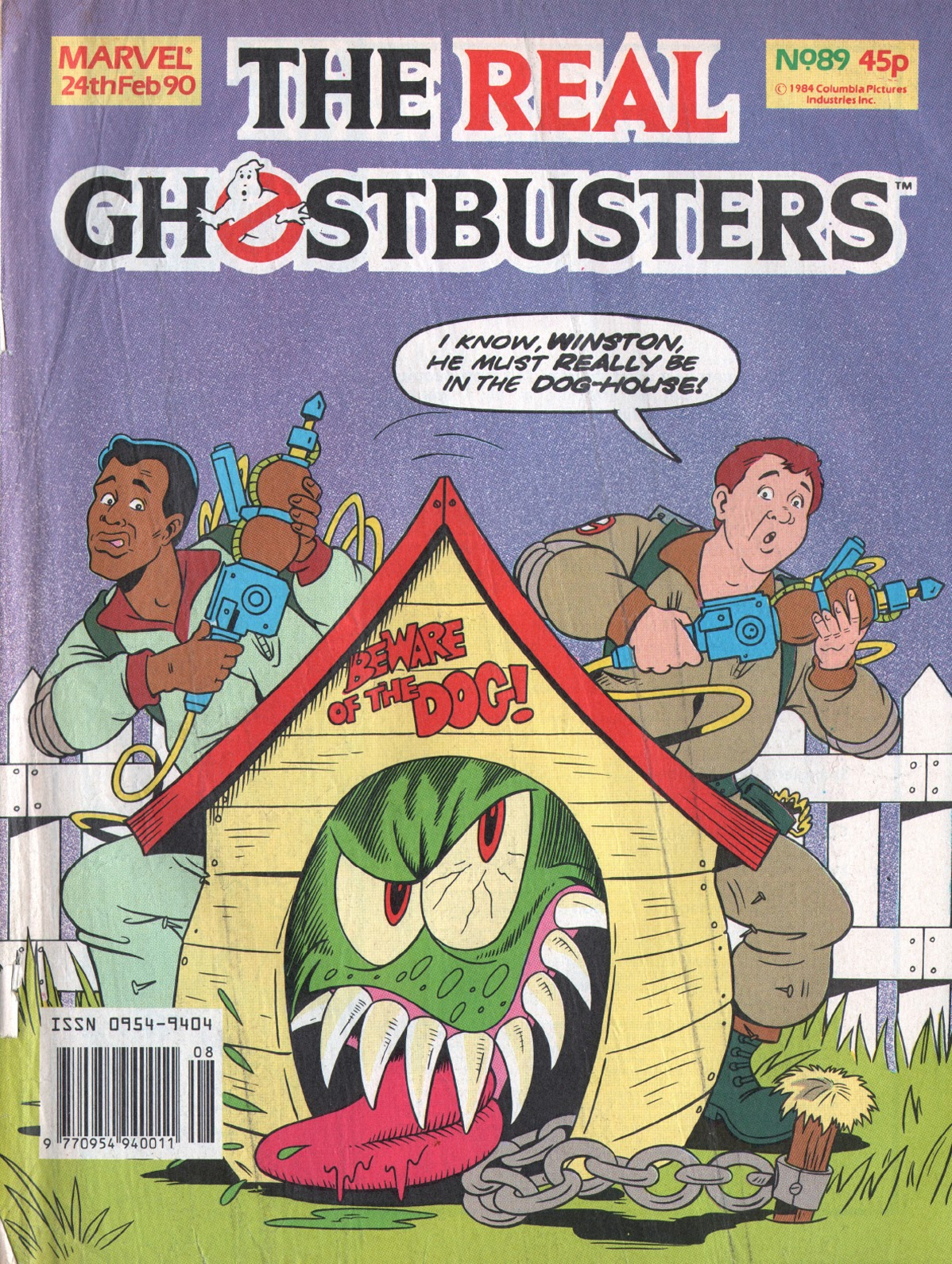 The Real Ghostbusters 89 Page 1