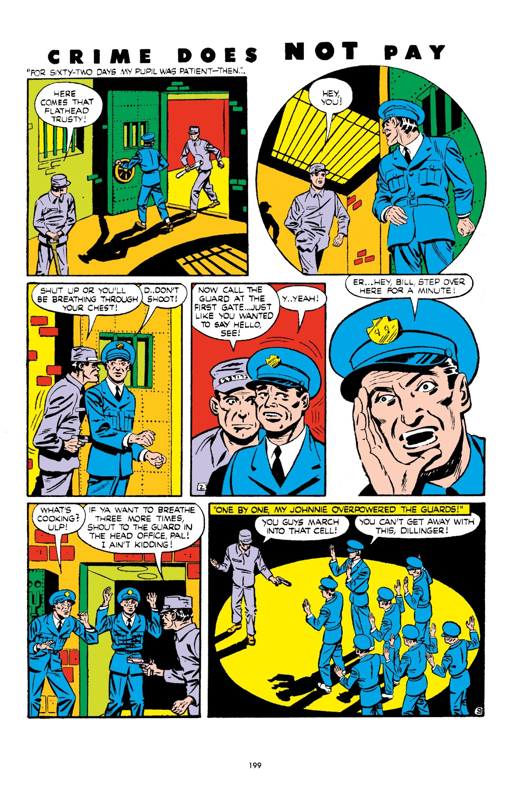 Read online Crime Does Not Pay Archives comic -  Issue # TPB 6 (Part 2) - 100