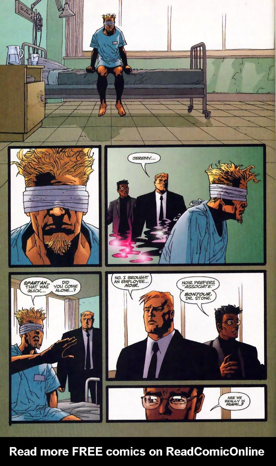 Wildcats (1999) Issue #17 #18 - English 6