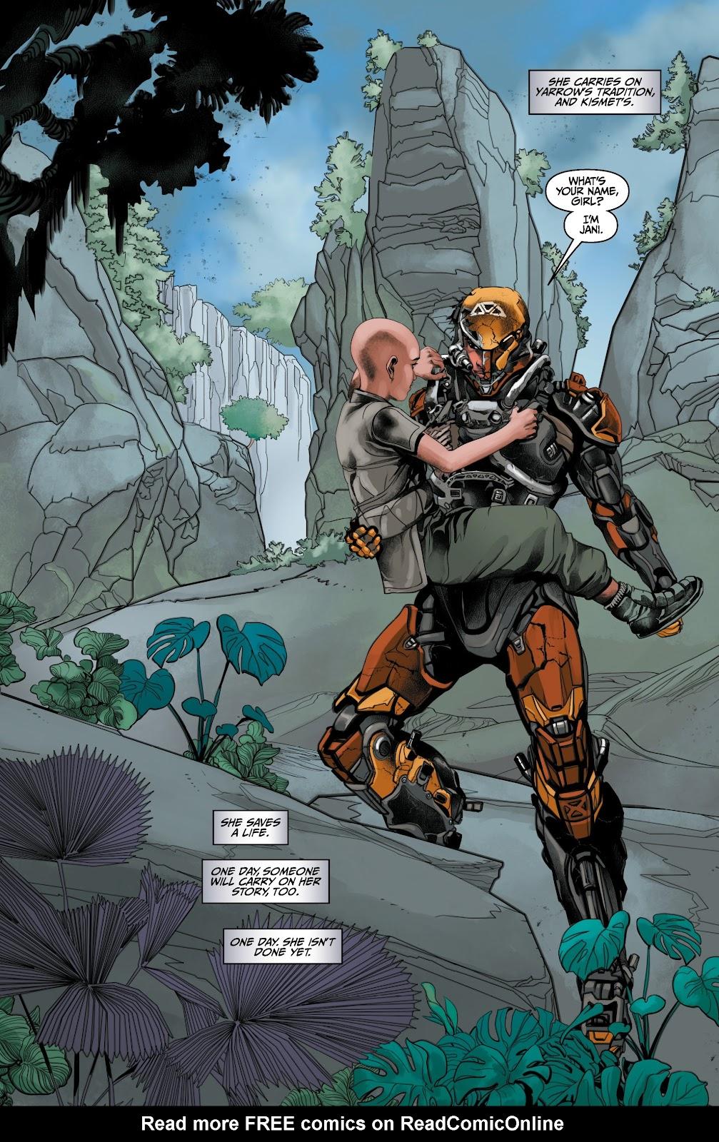 Read online Anthem comic -  Issue #3 - 21
