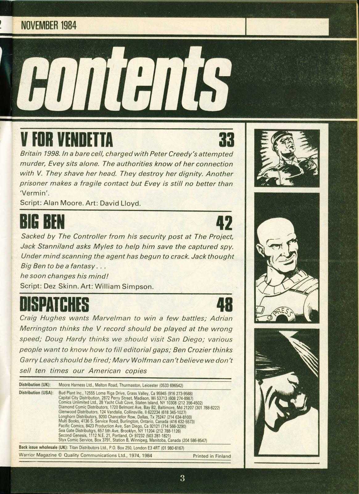 Warrior Issue #24 #25 - English 3