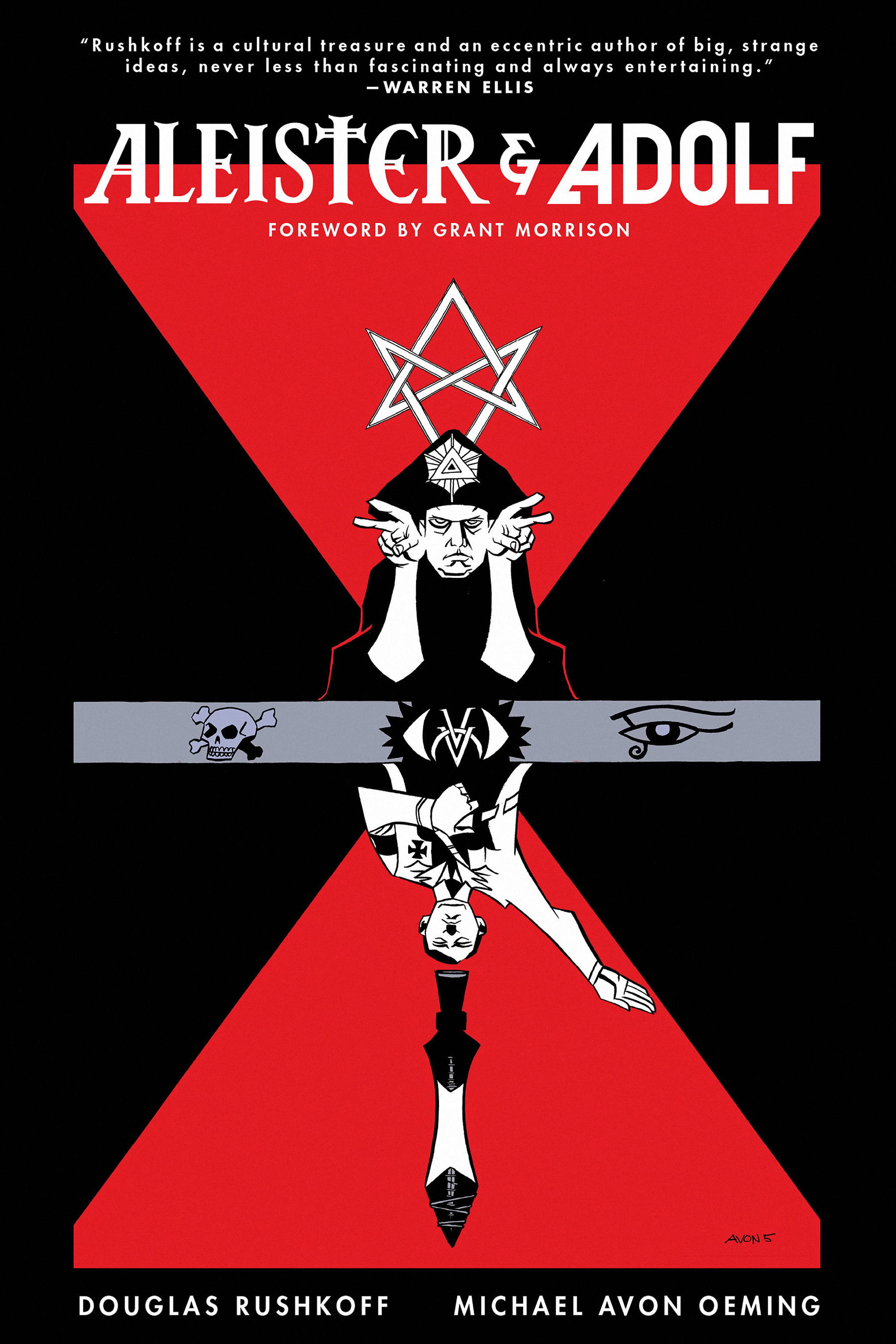 Read online Aleister & Adolf comic -  Issue # TPB - 1
