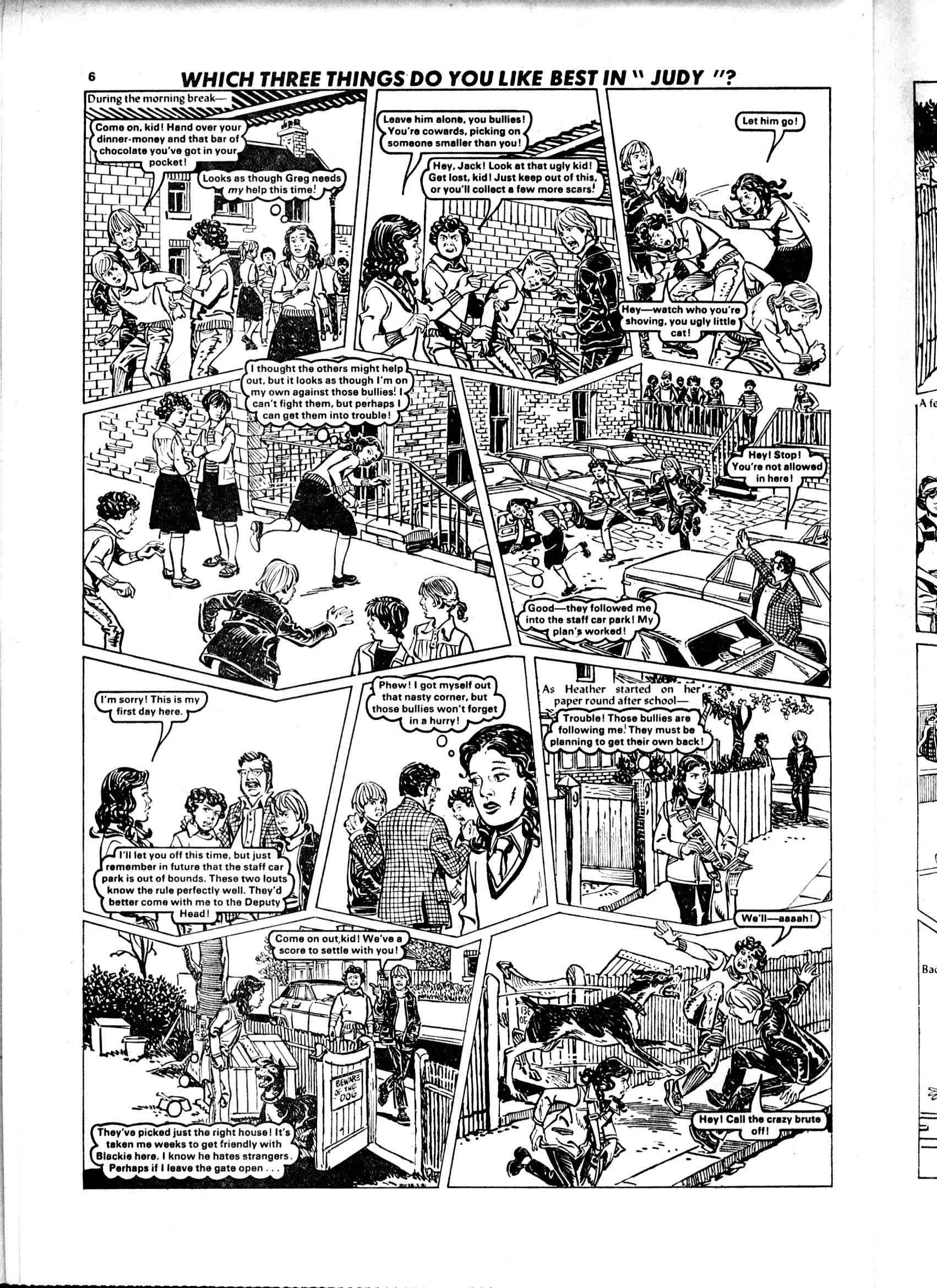 Read online Judy comic -  Issue #1107 - 6