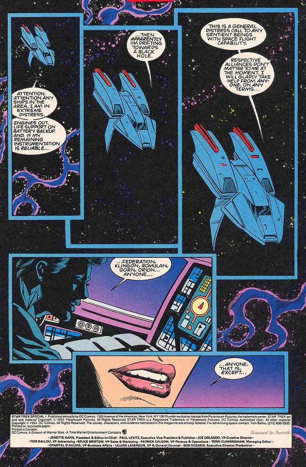 Read online Star Trek (1989) comic -  Issue # _Special 1 - 3