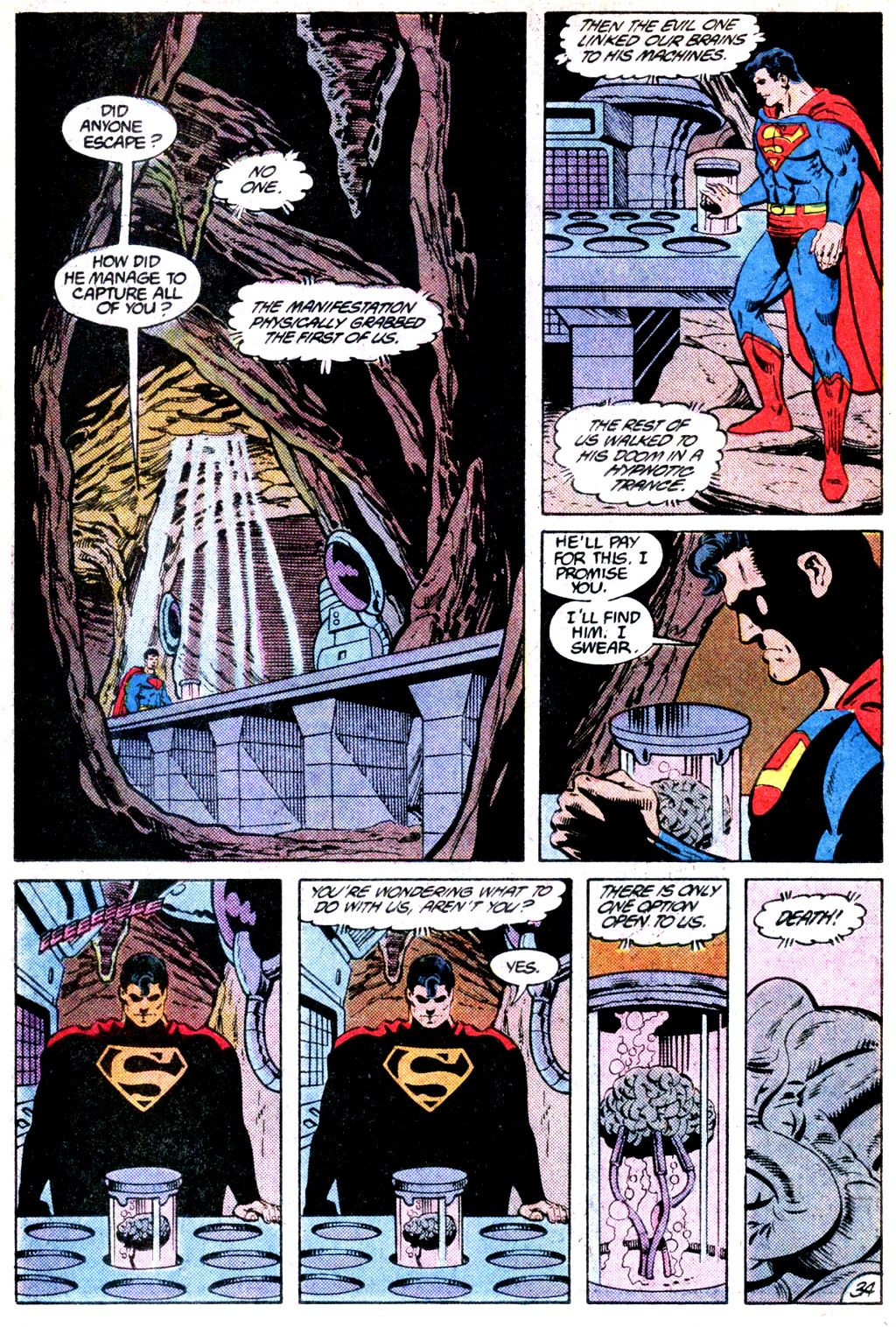 Read online Adventures of Superman (1987) comic -  Issue #Adventures of Superman (1987) _Annual 1 - 35