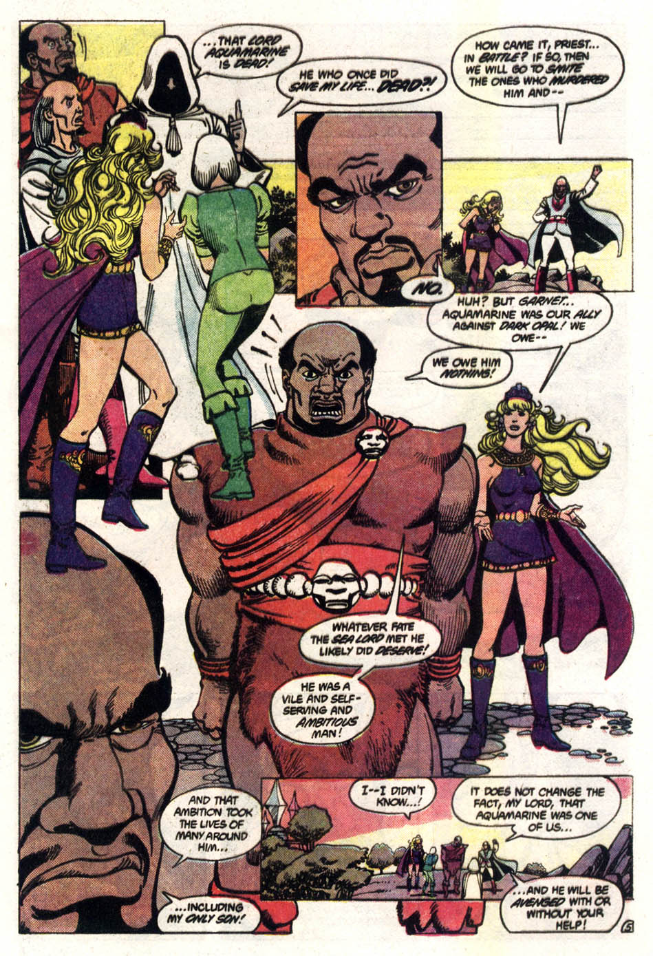 Read online Amethyst (1985) comic -  Issue #3 - 6