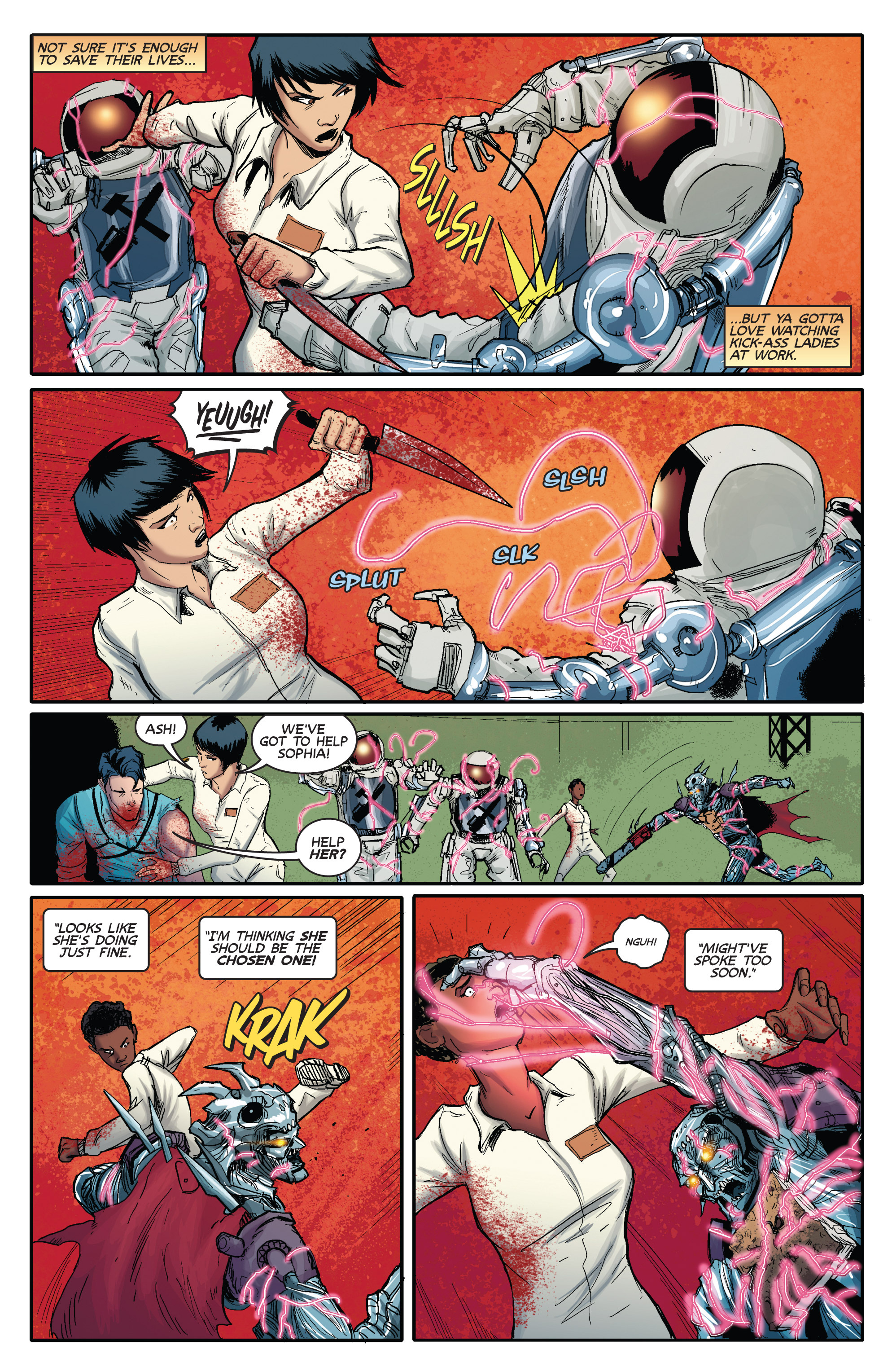 Read online Army of Darkness (2014) comic -  Issue #3 - 21