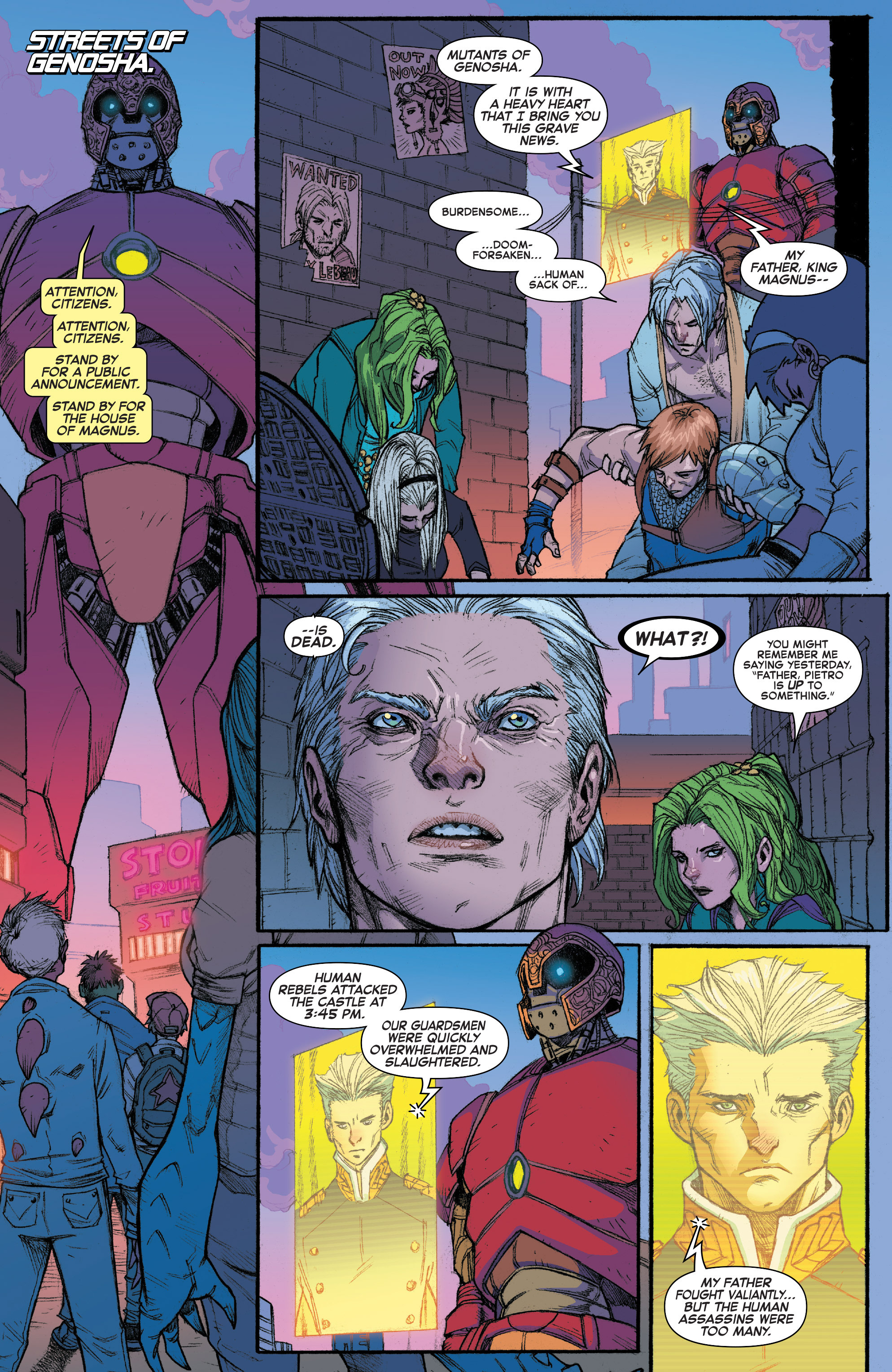 Read online House of M (2015) comic -  Issue #3 - 10