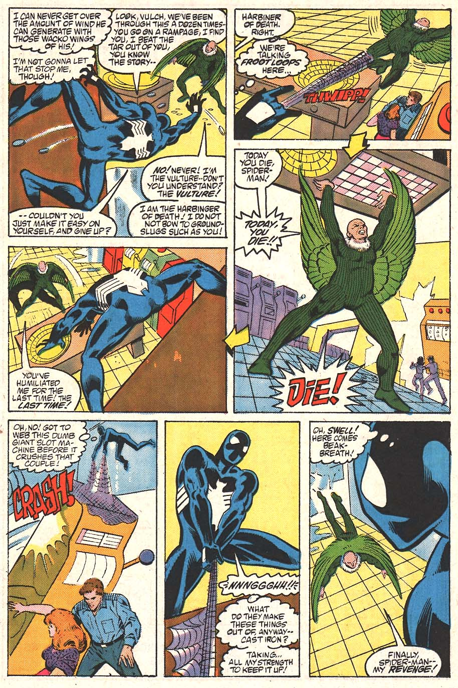 Web of Spider-Man (1985) Issue #24 #34 - English 18