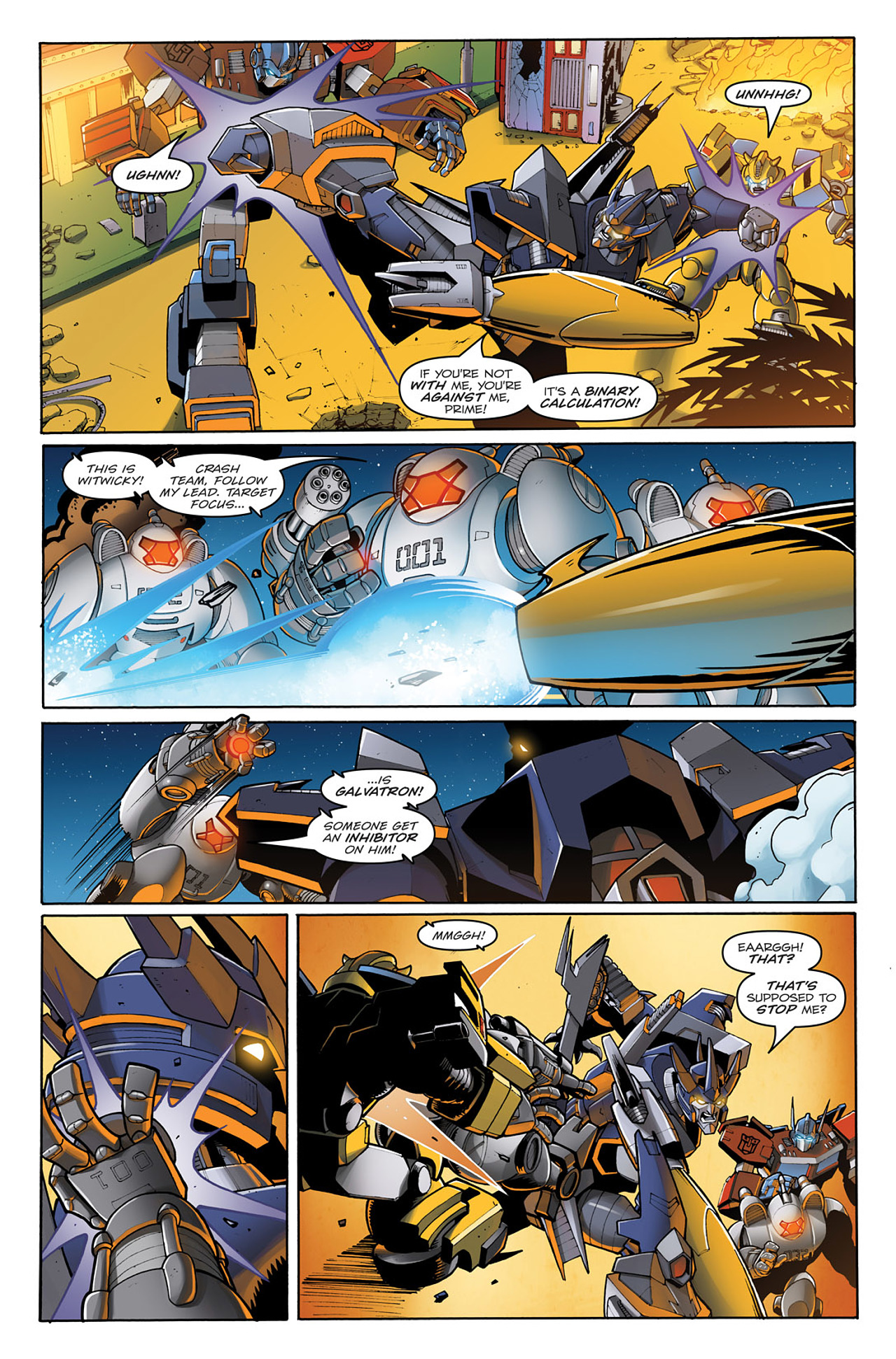 Read online Transformers: Infestation comic -  Issue #1 - 17
