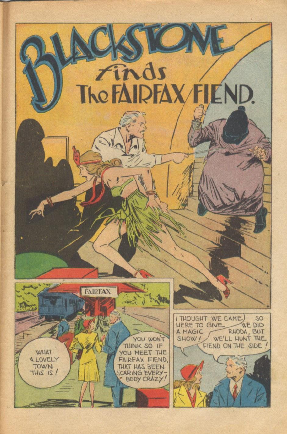 Read online Super-Magician Comics comic -  Issue #37 - 42