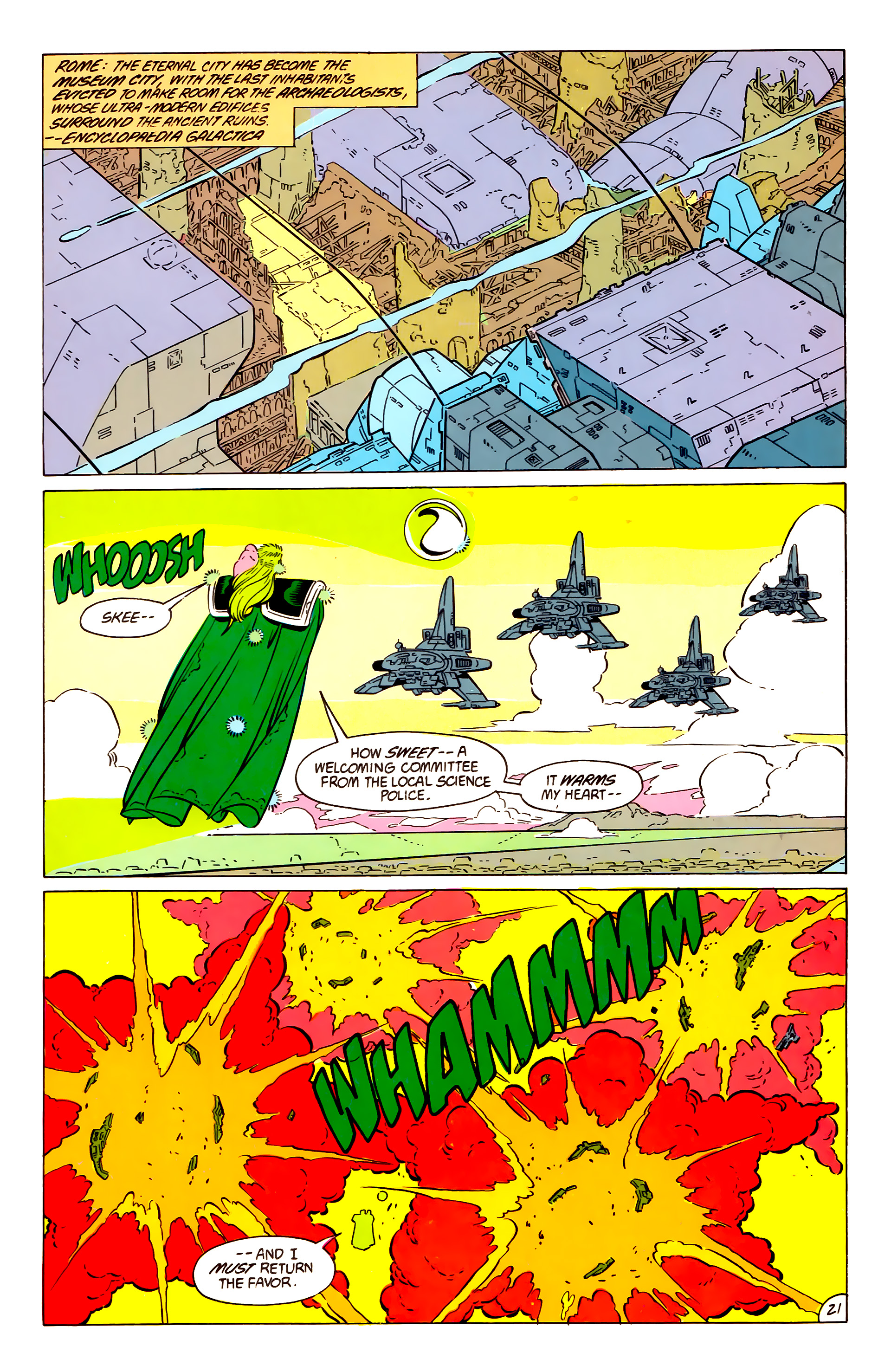 Legion of Super-Heroes (1984) 57 Page 21