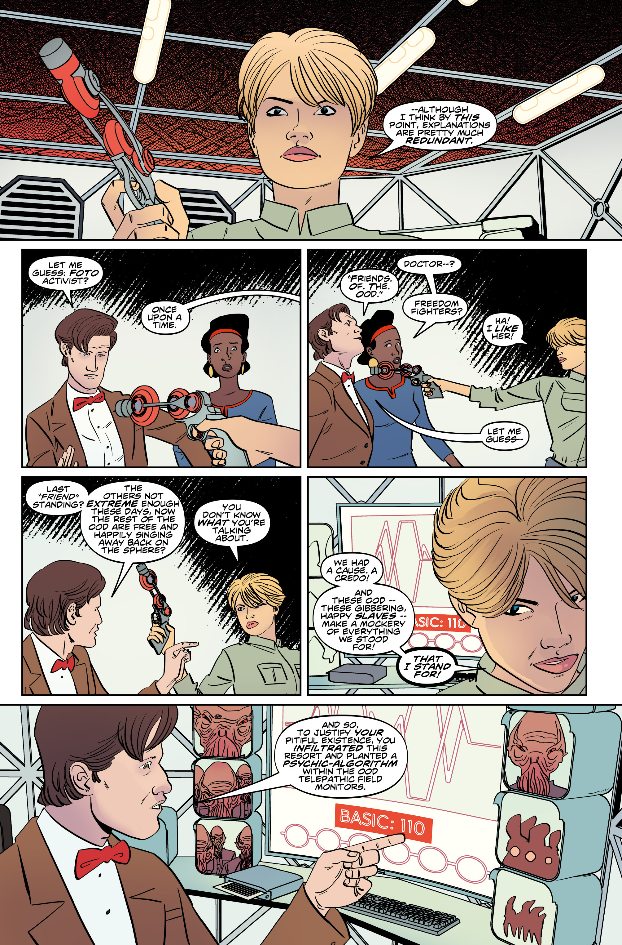 Read online Doctor Who: The Eleventh Doctor Year Three comic -  Issue #5 - 17