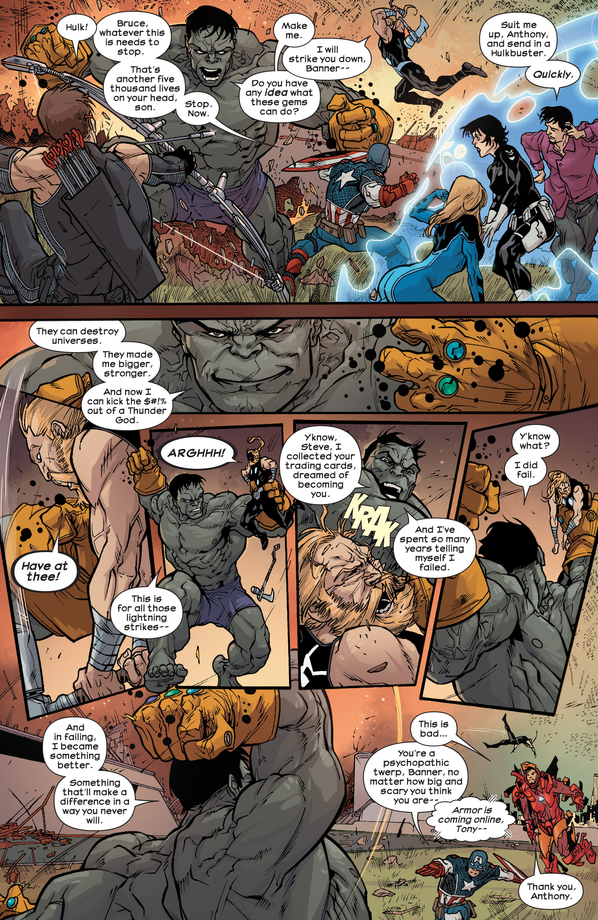 Read online Ultimate Comics Ultimates comic -  Issue #25 - 8