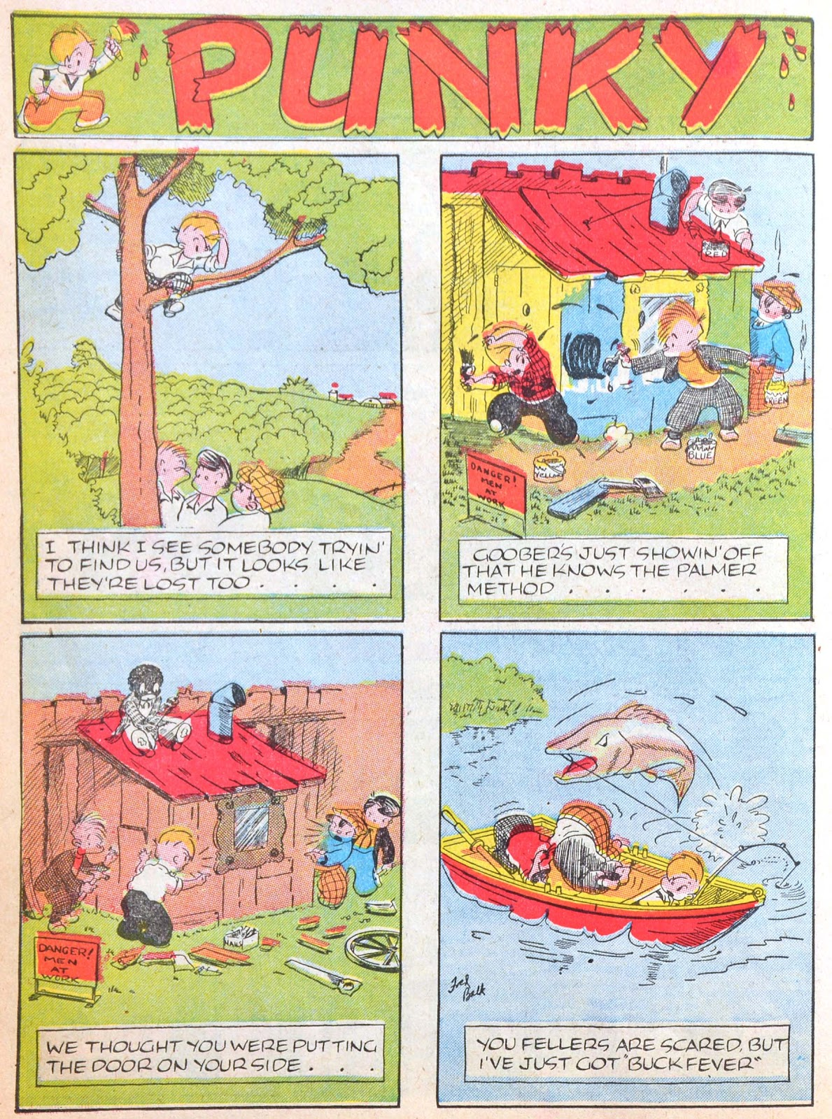 Read online Famous Funnies comic -  Issue #52 - 56
