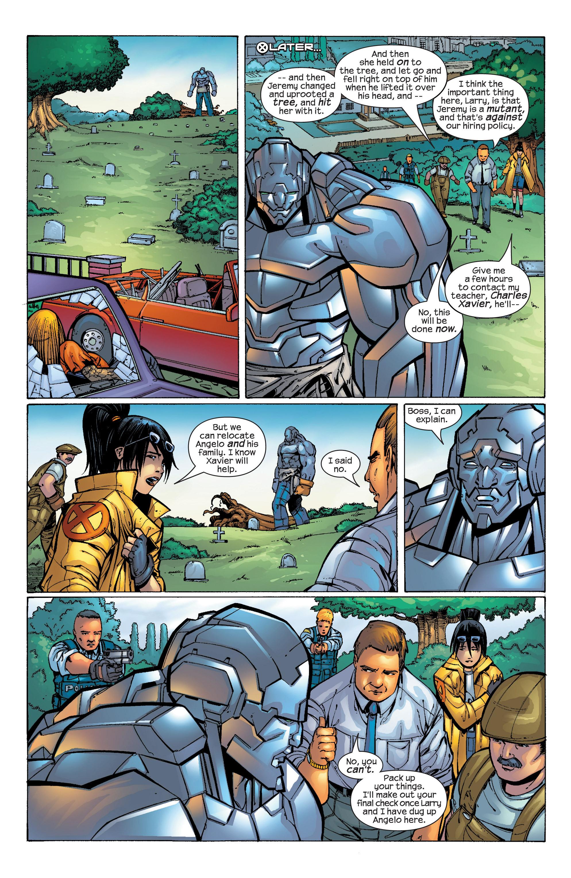 Read online Uncanny X-Men (1963) comic -  Issue #427 - 22