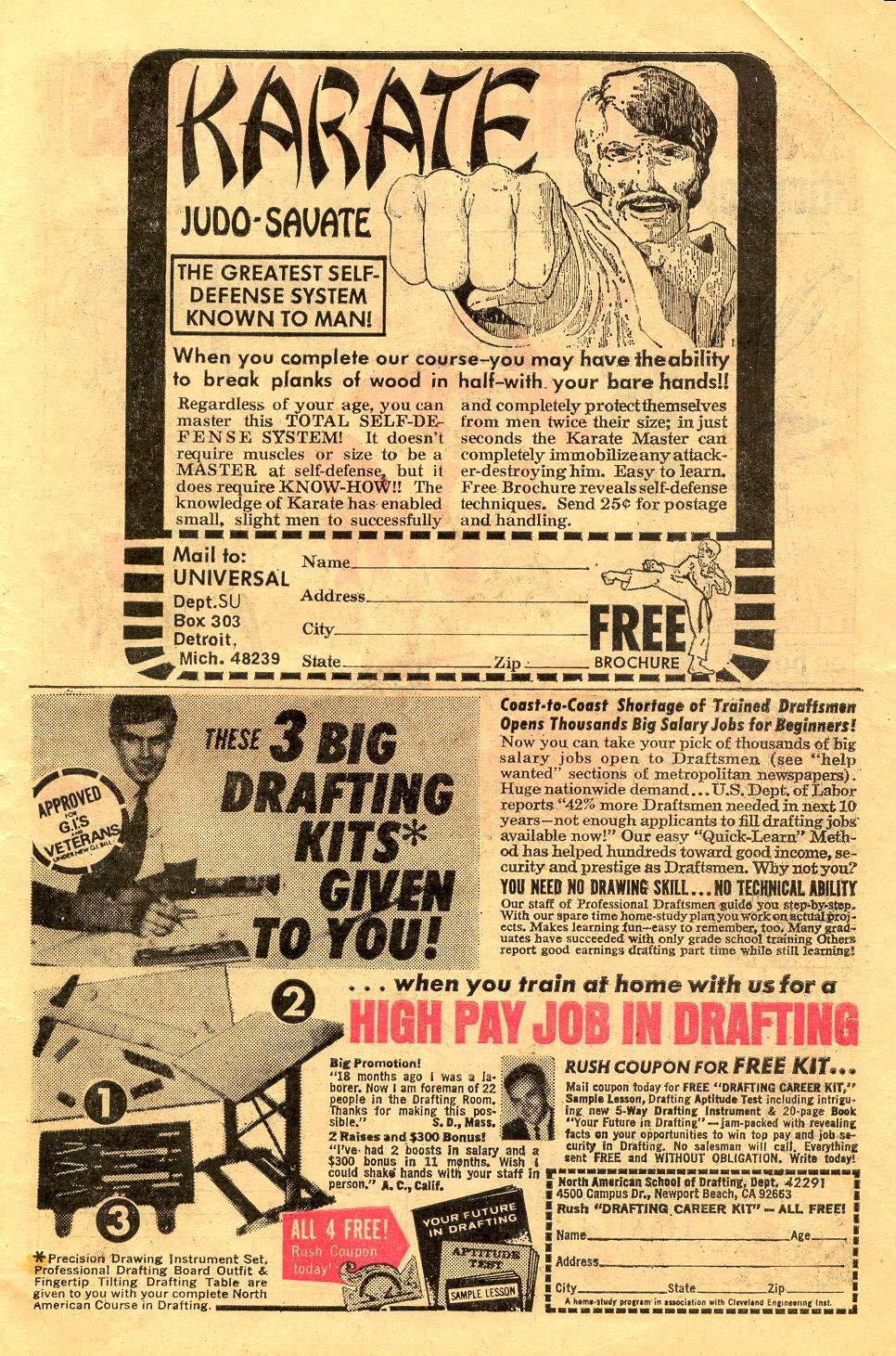 Read online Secret Origins (1973) comic -  Issue #6 - 7