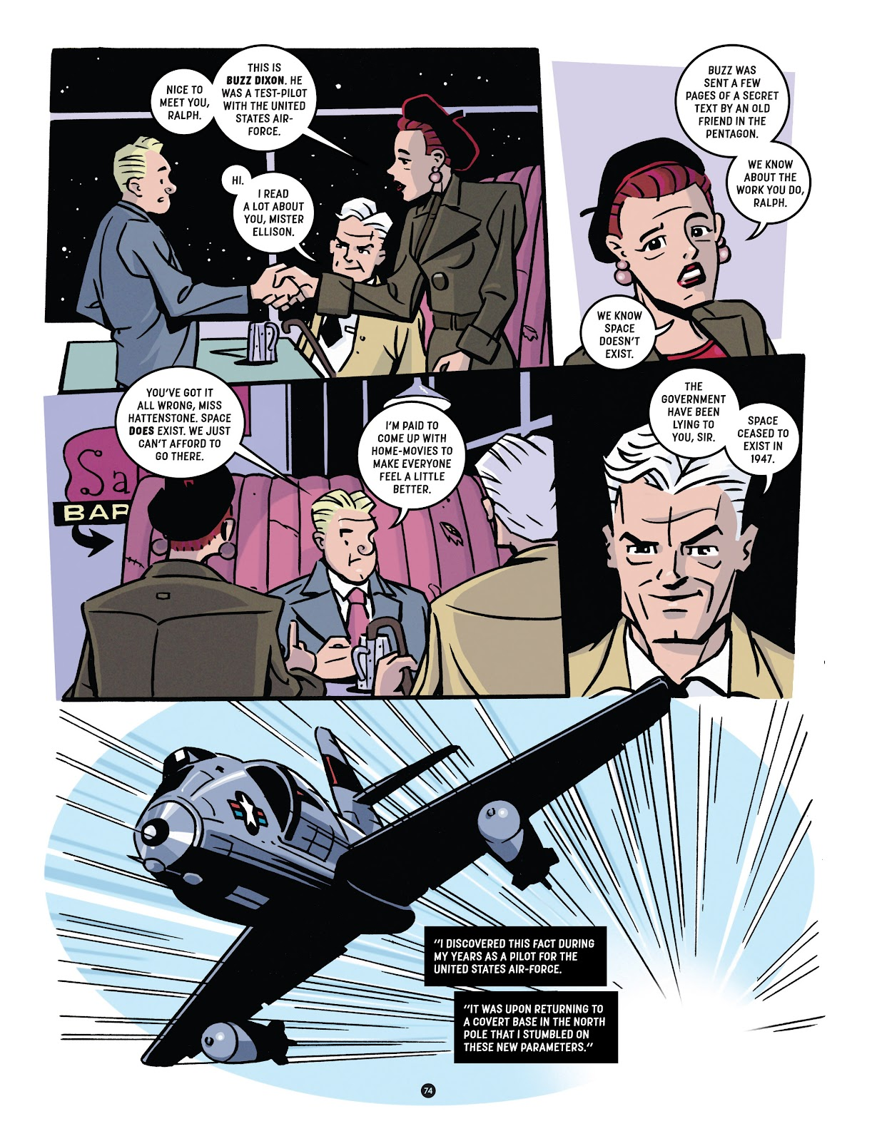 Read online Tales from Beyond Science comic -  Issue # TPB - 75