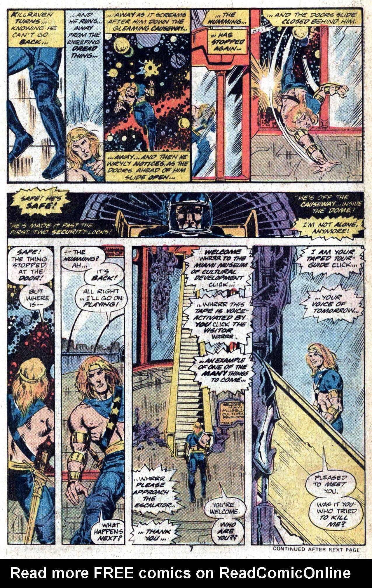 Read online Amazing Adventures (1970) comic -  Issue #38 - 9