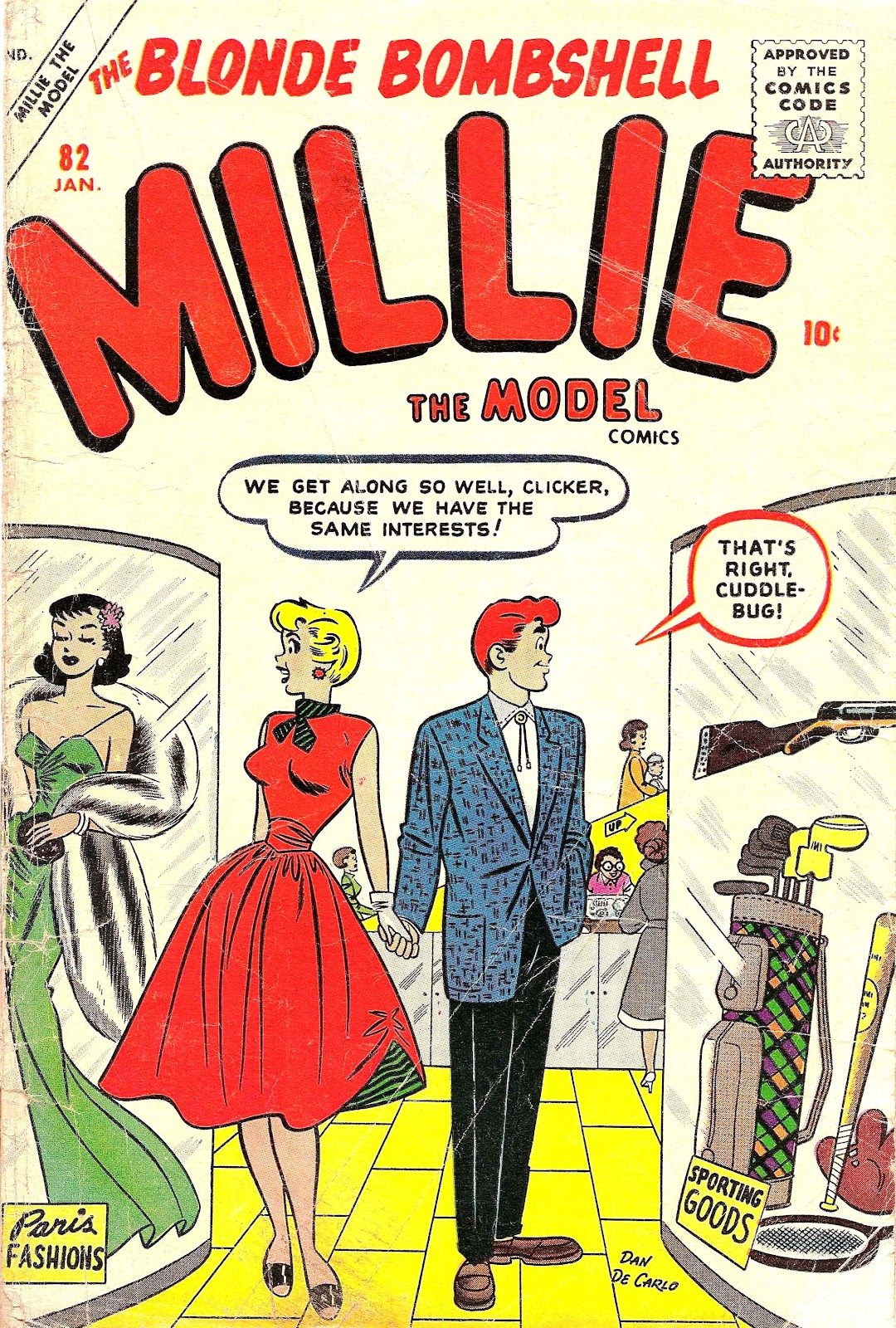 Millie the Model issue 82 - Page 1