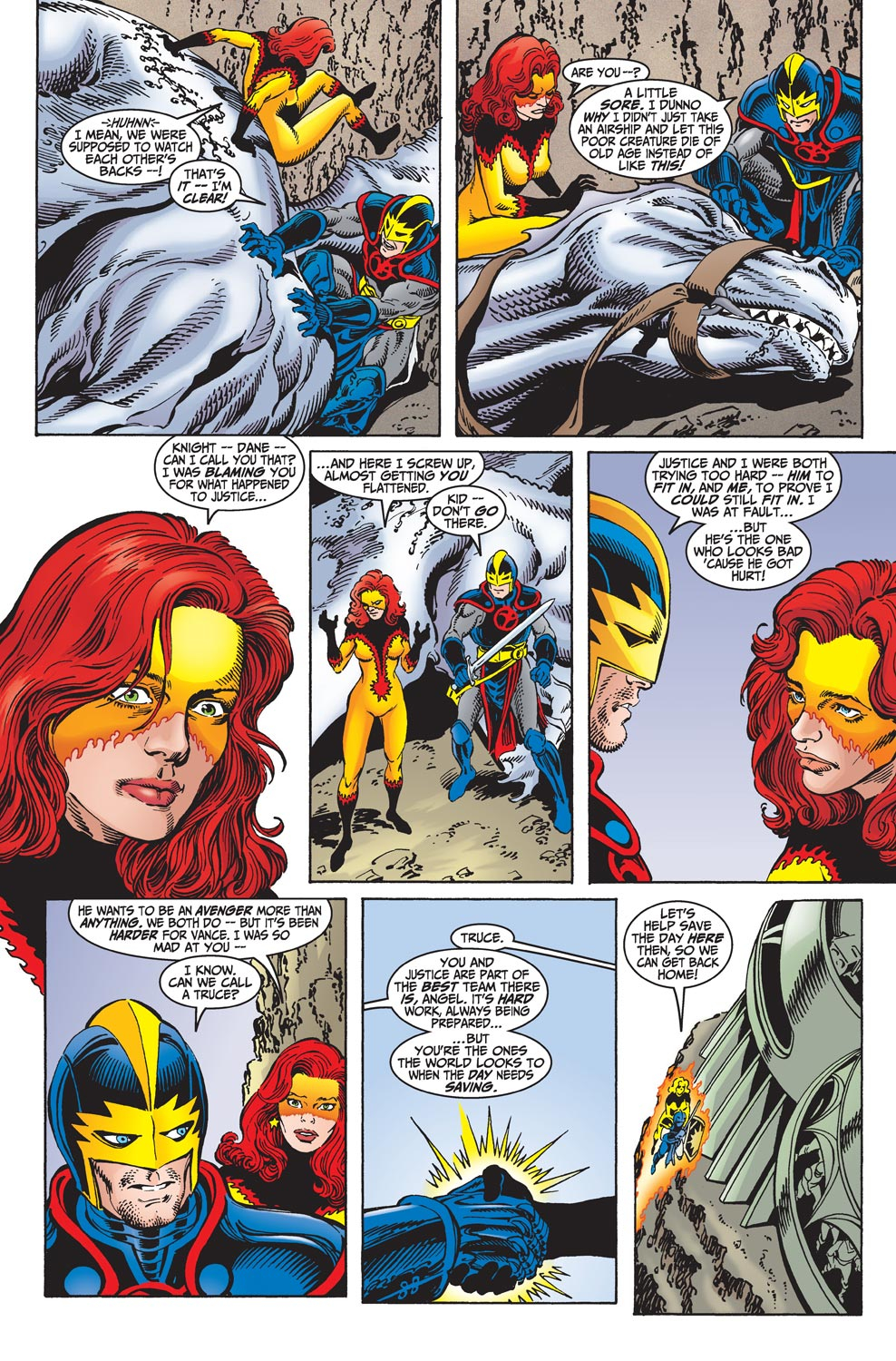 Read online Avengers (1998) comic -  Issue #18 - 13