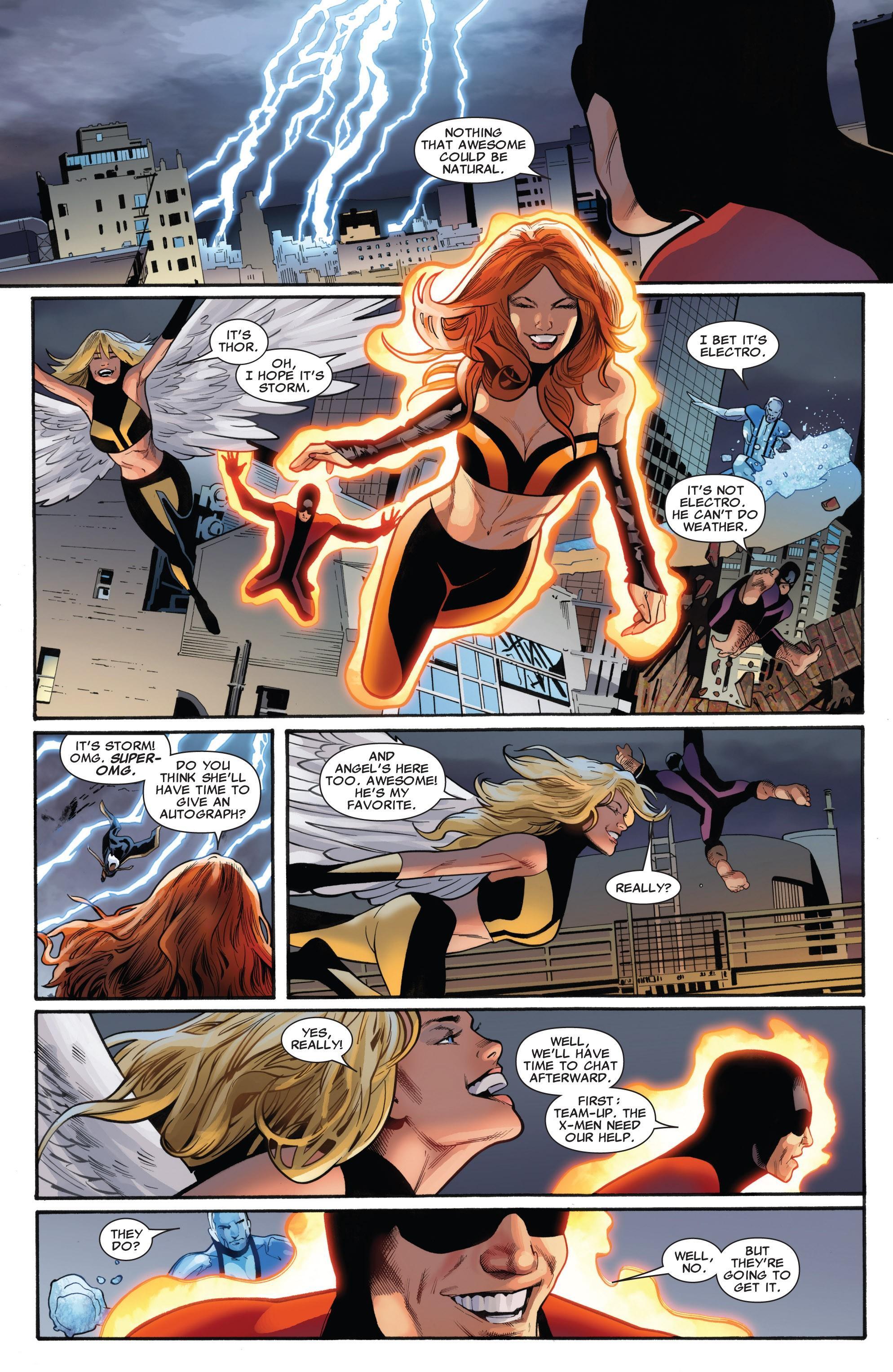 Read online Uncanny X-Men (1963) comic -  Issue #531 - 18