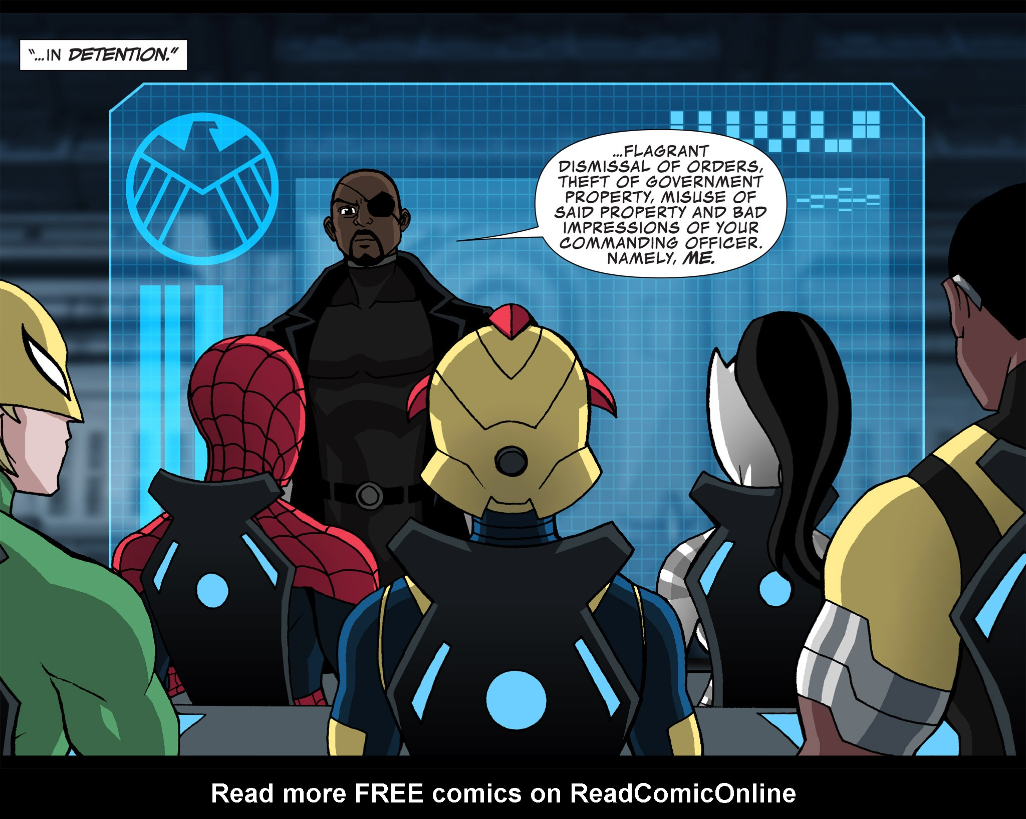 Read online Ultimate Spider-Man (Infinite Comics) (2015) comic -  Issue #24 - 29