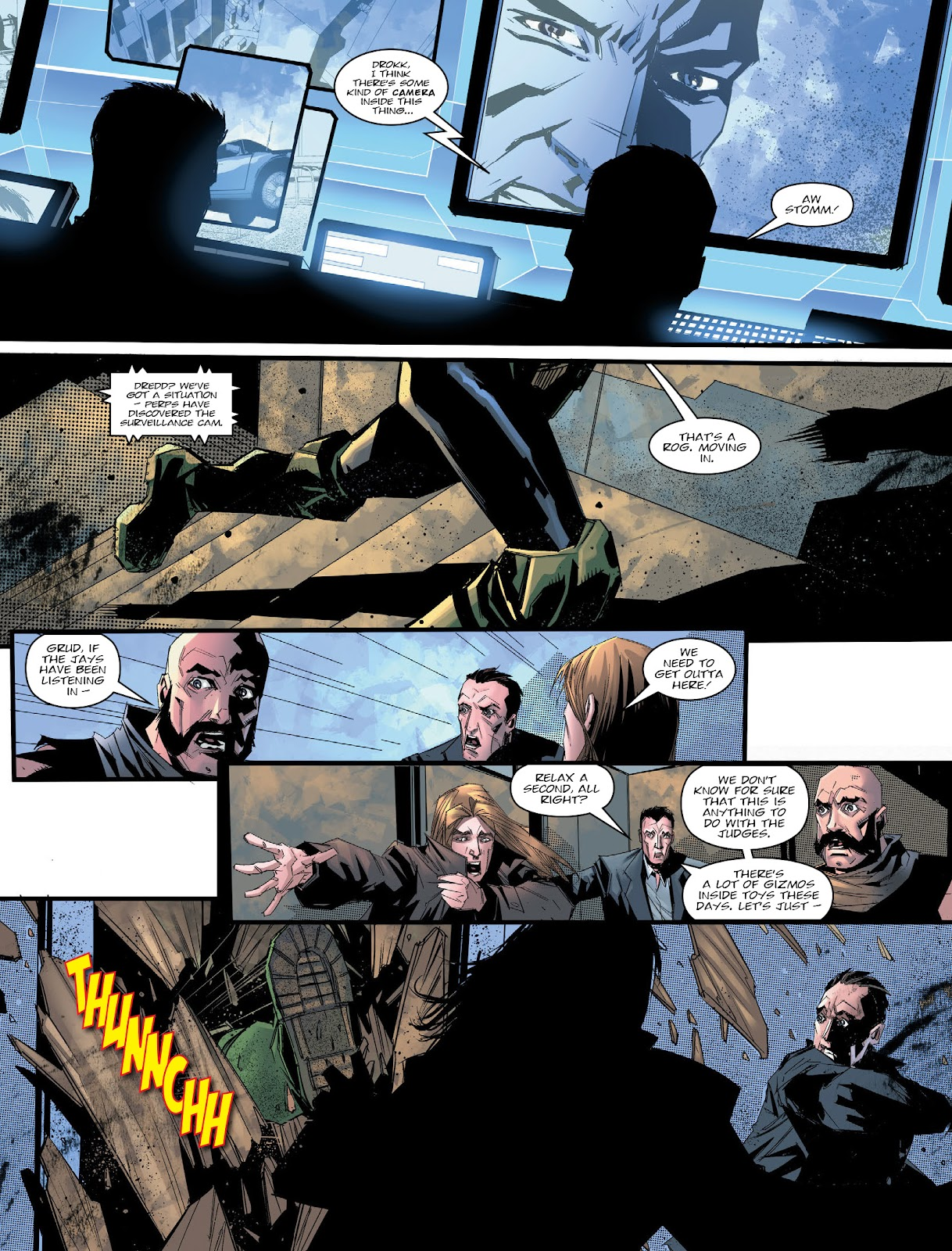 Judge Dredd Megazine (Vol. 5) issue 427 - Page 12