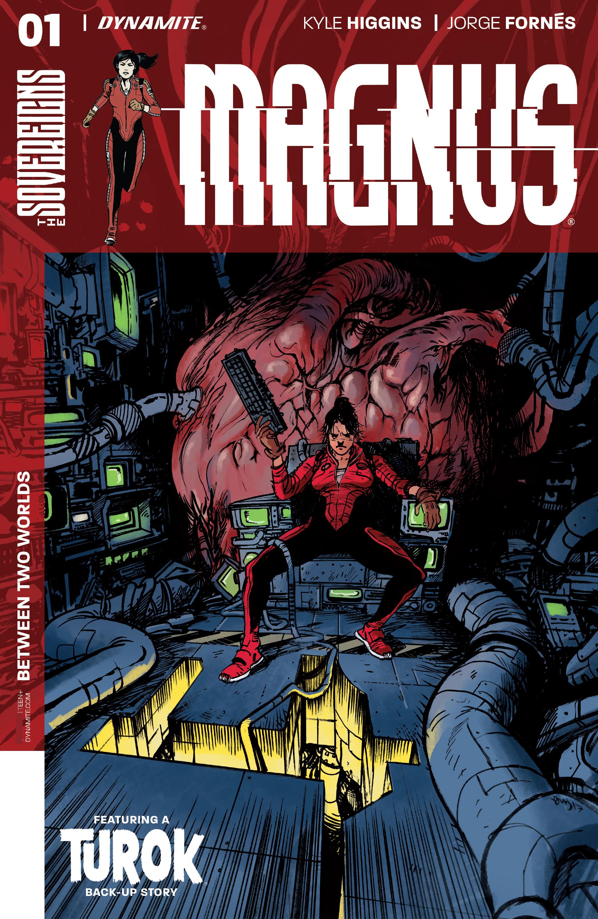 Read online Magnus comic -  Issue #1 - 4