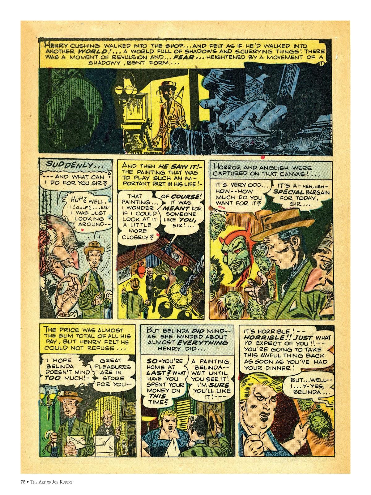Read online The Art of Joe Kubert comic -  Issue # TPB (Part 1) - 77