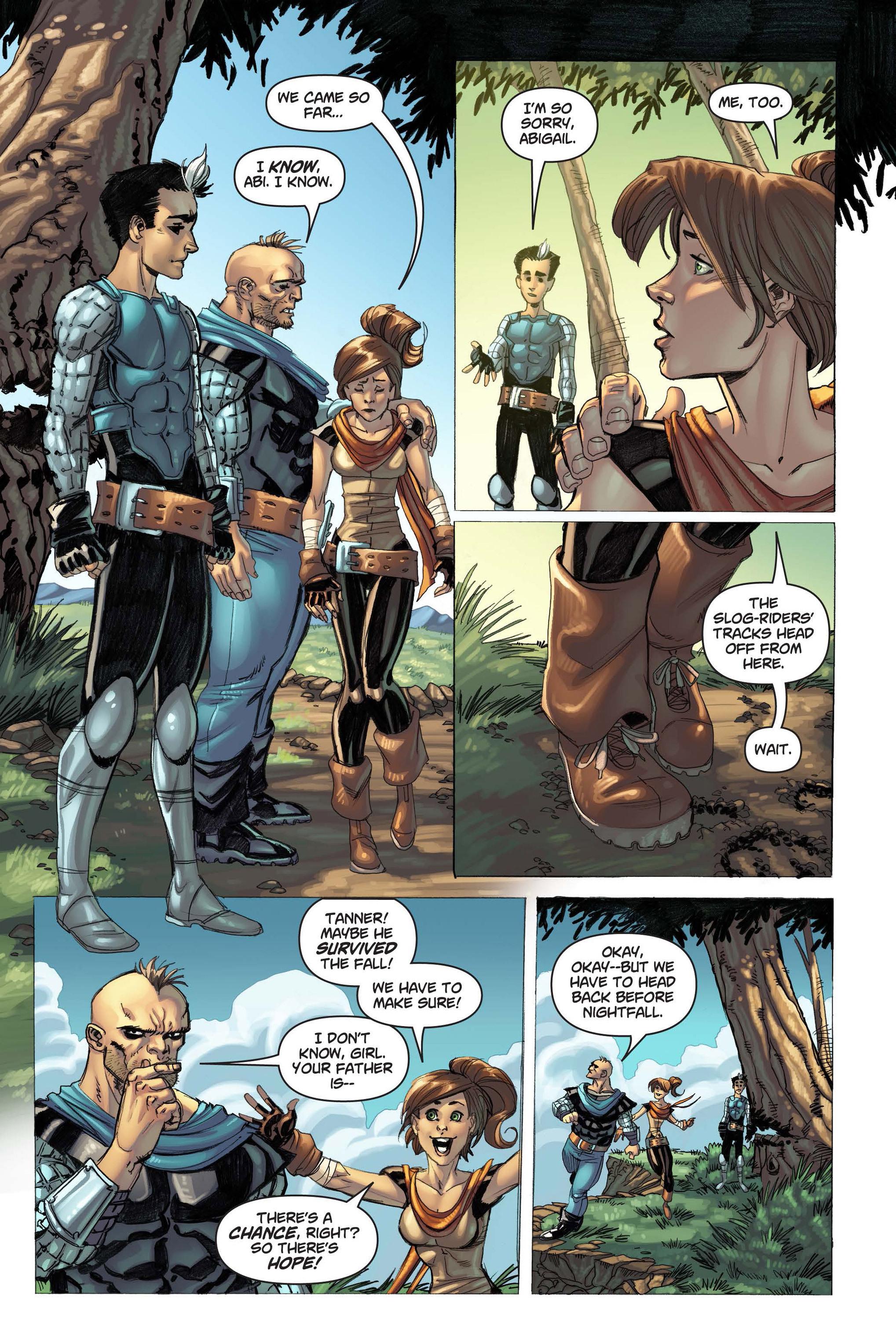 Read online Skyward comic -  Issue #3 - 6