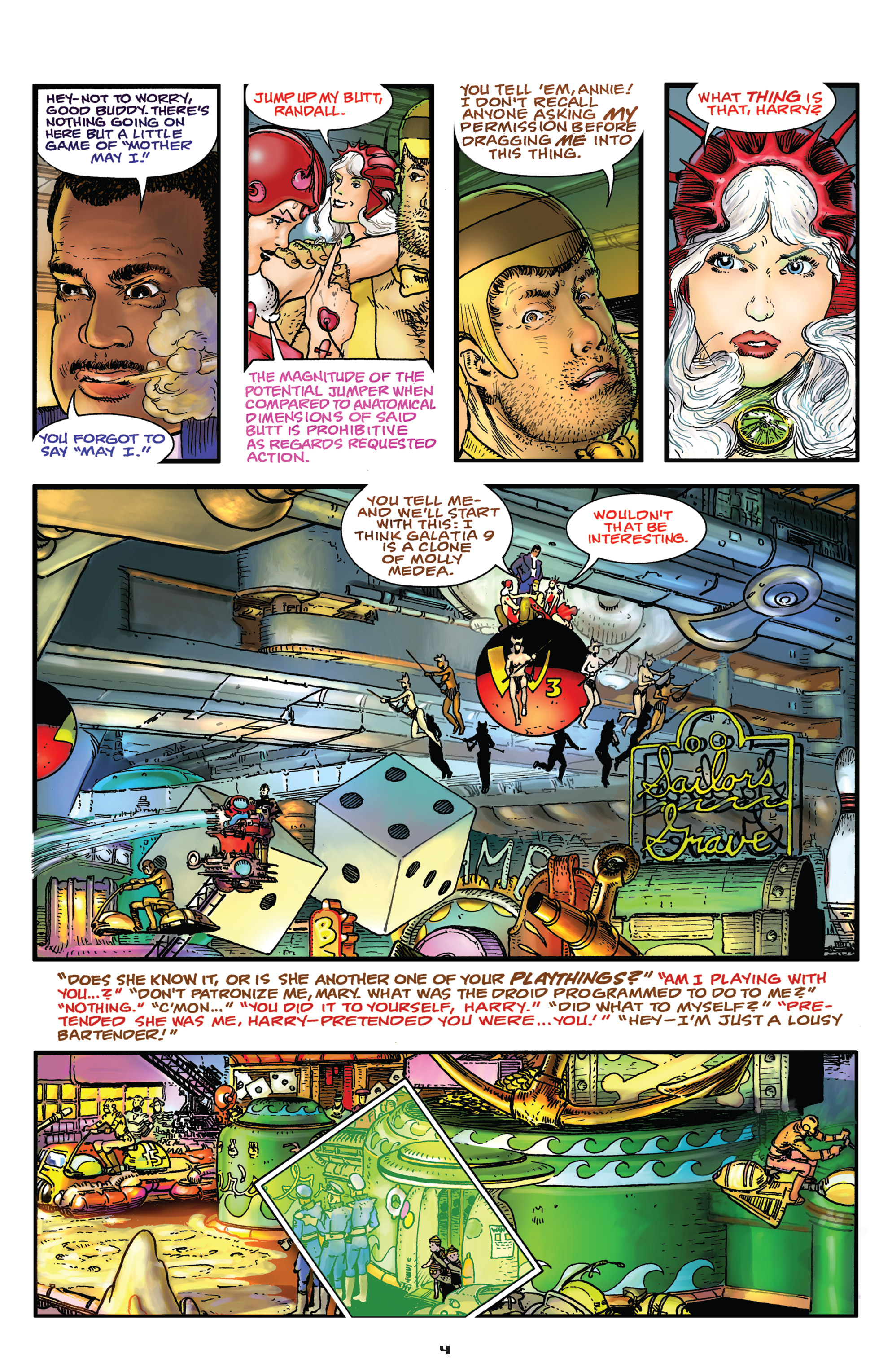 Read online Starstruck: Old Proldiers Never Die comic -  Issue #4 - 5