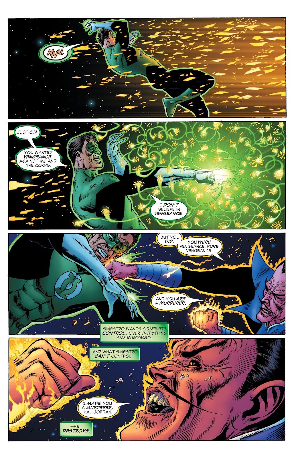 Read online Green Lantern by Geoff Johns comic -  Issue # TPB 1 (Part 2) - 19