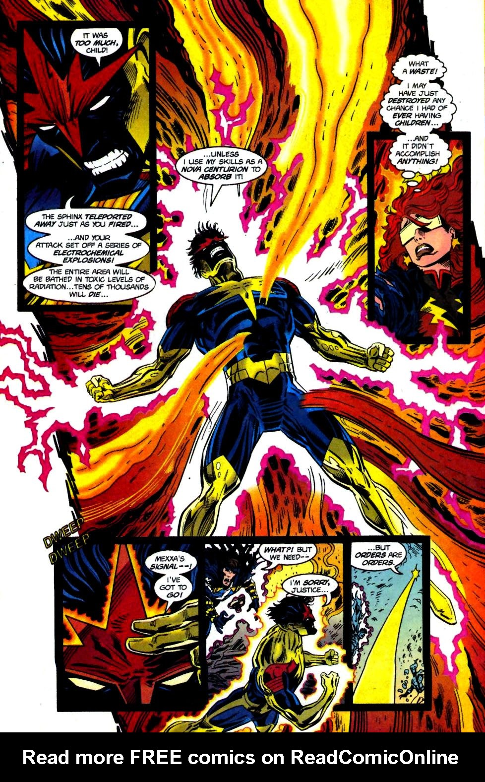 The New Warriors Issue #69 #73 - English 16