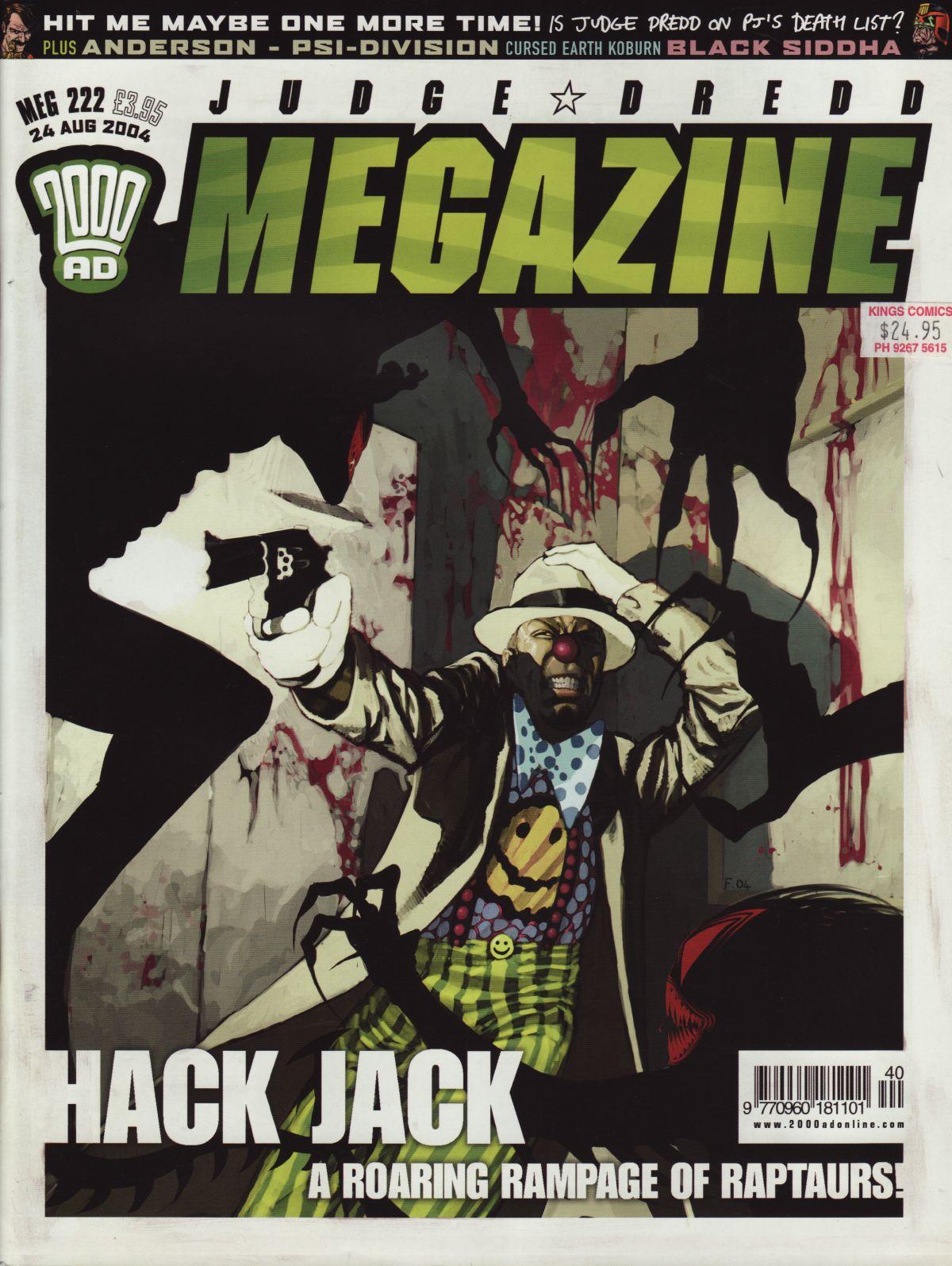 Judge Dredd Megazine (Vol. 5) issue 222 - Page 1